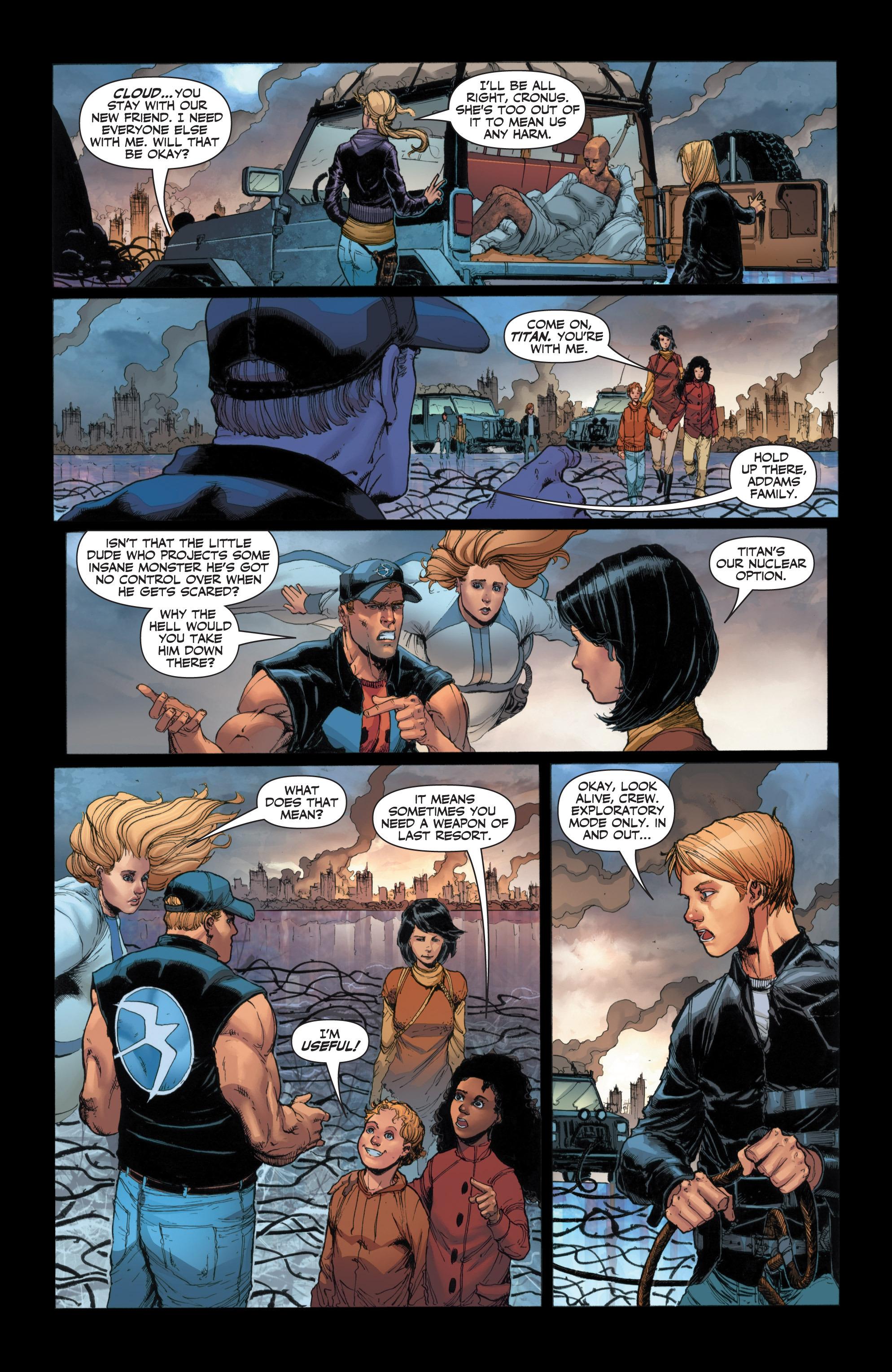 Read online Armor Hunters: Harbinger comic -  Issue # TPB - 41