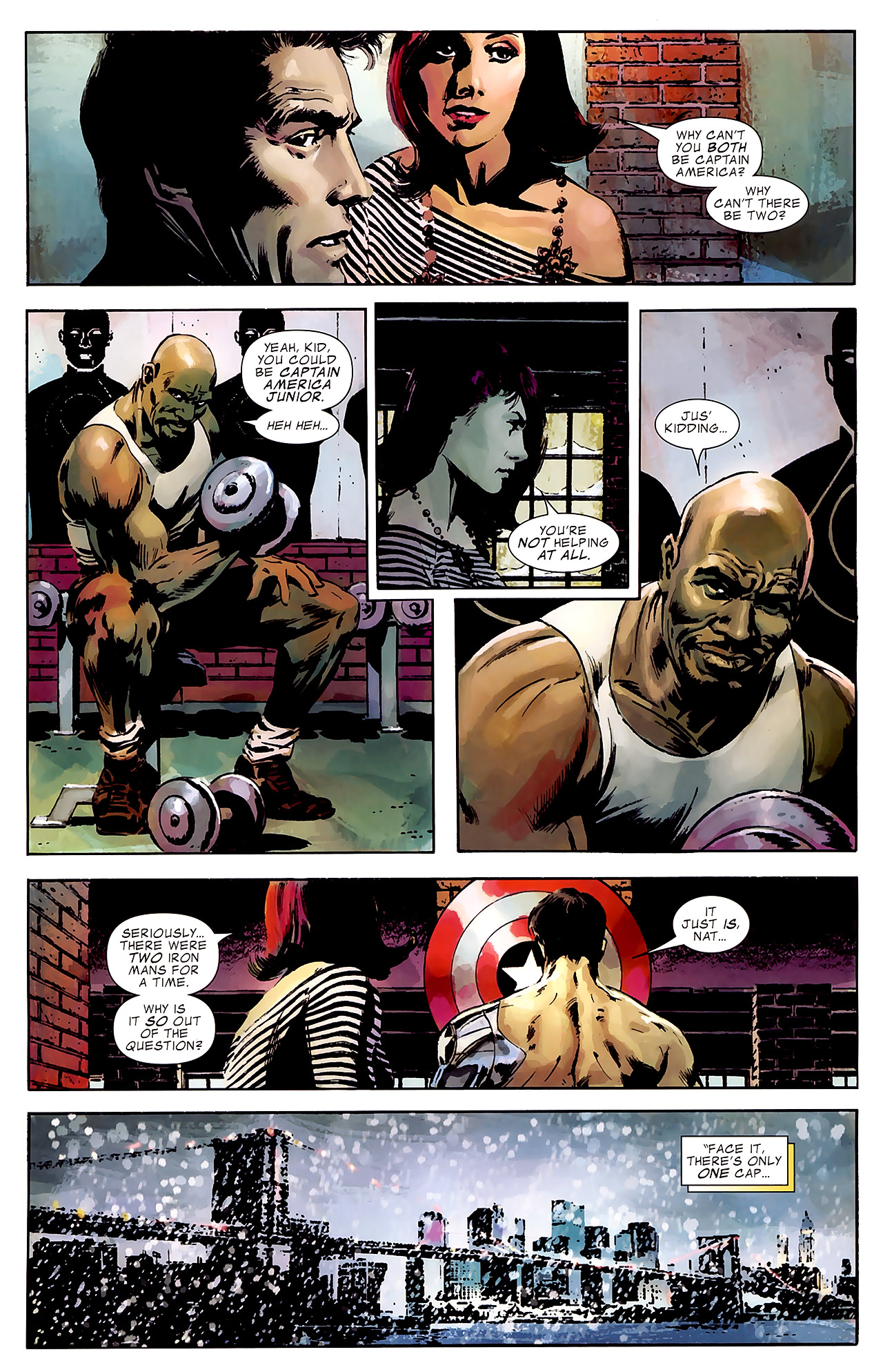 Read online Captain America Reborn: Who Will Wield the Shield? comic -  Issue # Full - 10