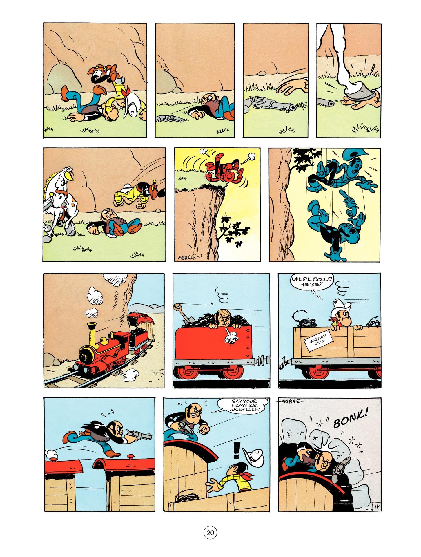 Read online A Lucky Luke Adventure comic -  Issue #55 - 20