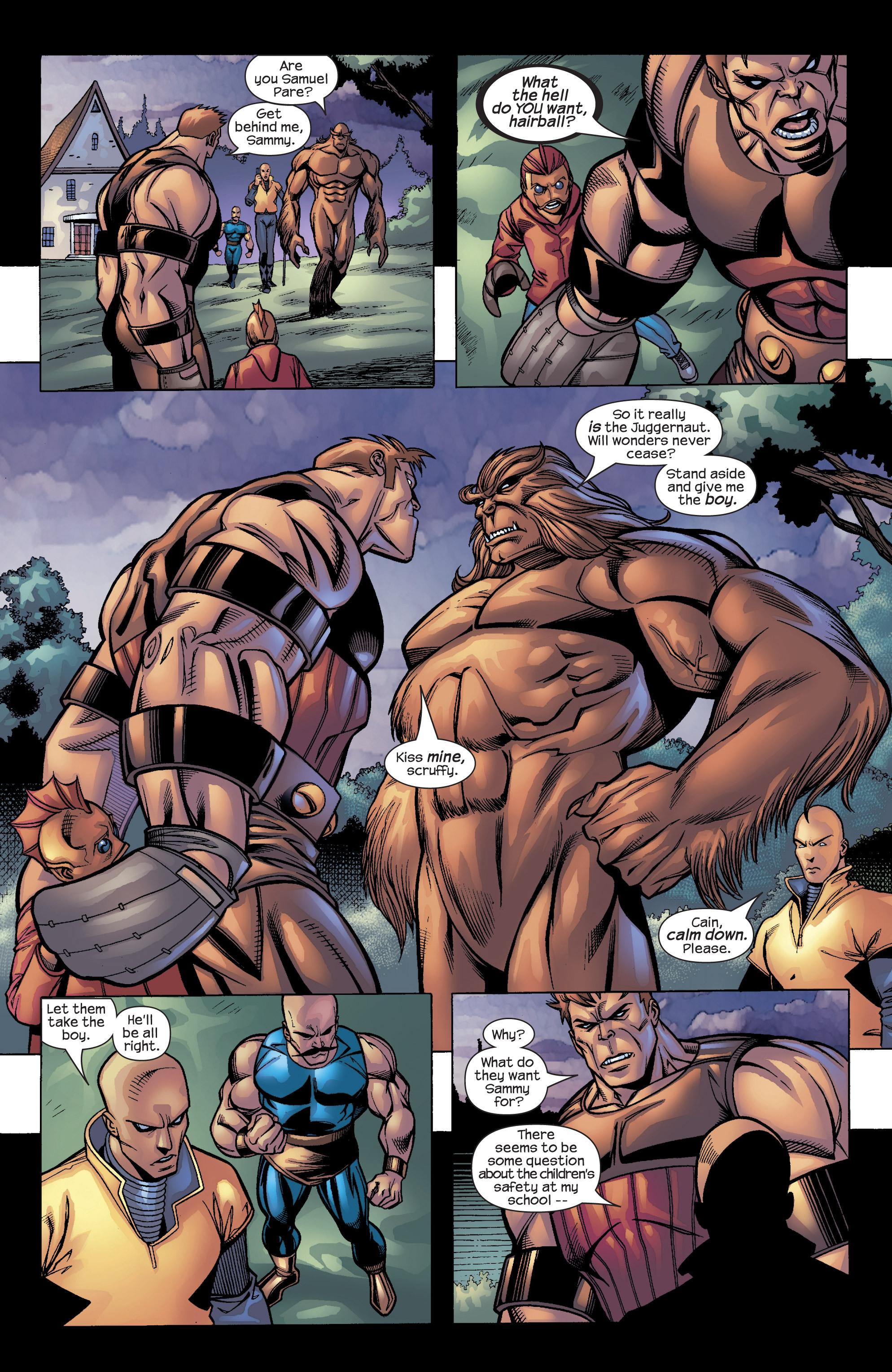 Read online Uncanny X-Men (1963) comic -  Issue #422 - 16