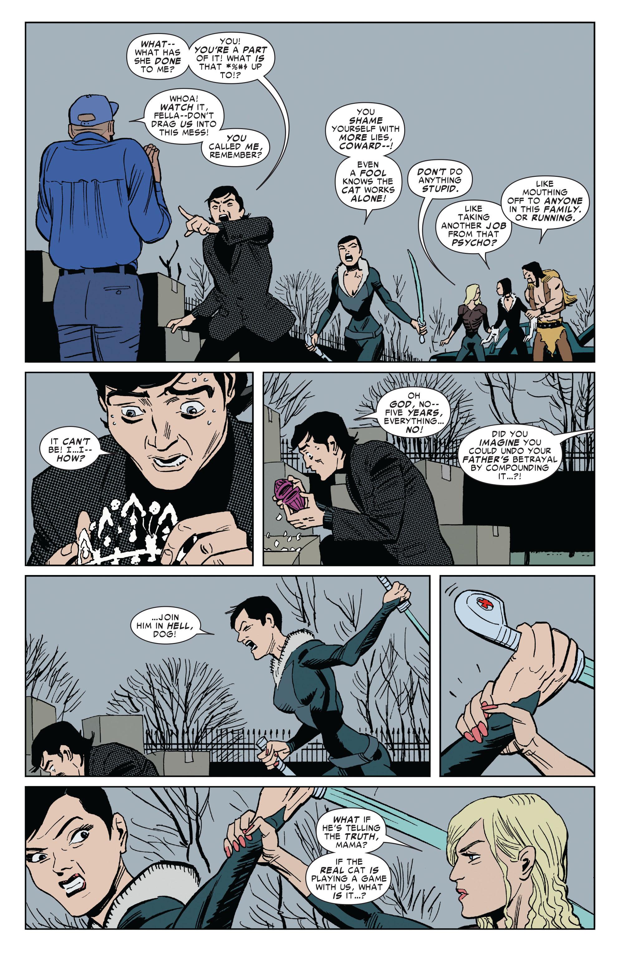 Read online Amazing Spider-Man Presents: Black Cat comic -  Issue #3 - 23