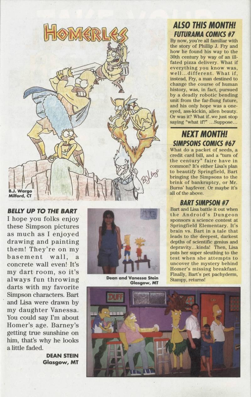 Read online Simpsons Comics comic -  Issue #66 - 25