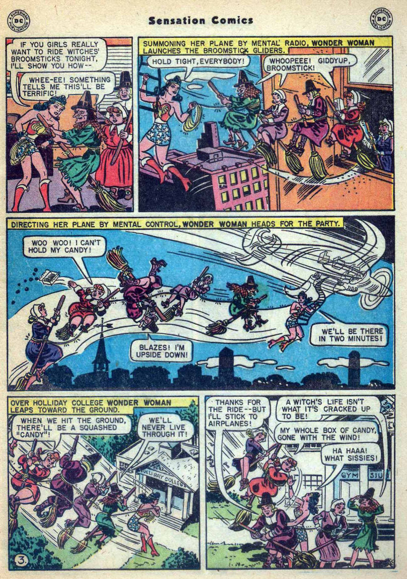 Read online Sensation (Mystery) Comics comic -  Issue #73 - 5