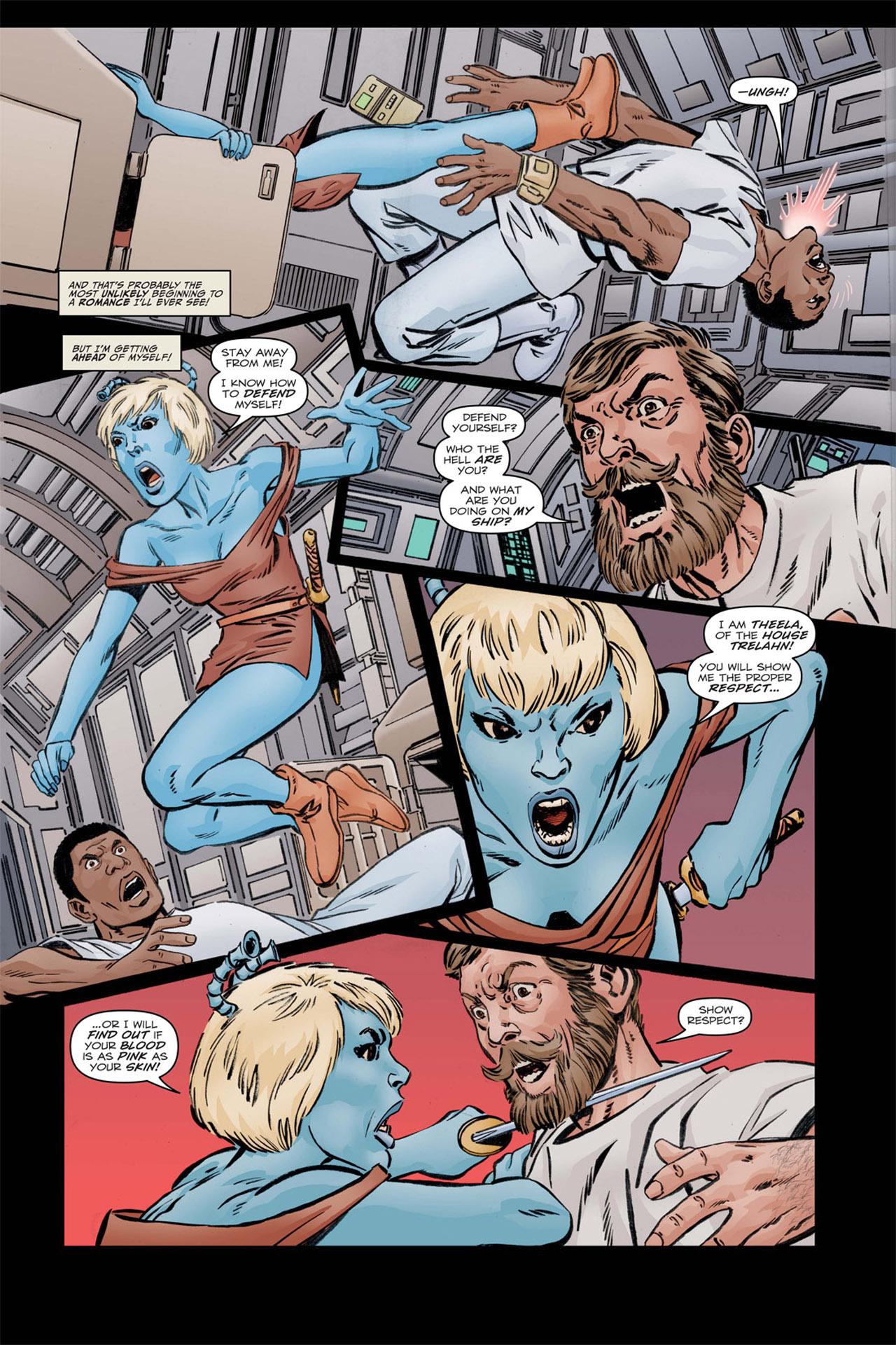 Read online Star Trek: Leonard McCoy, Frontier Doctor comic -  Issue #1 - 9
