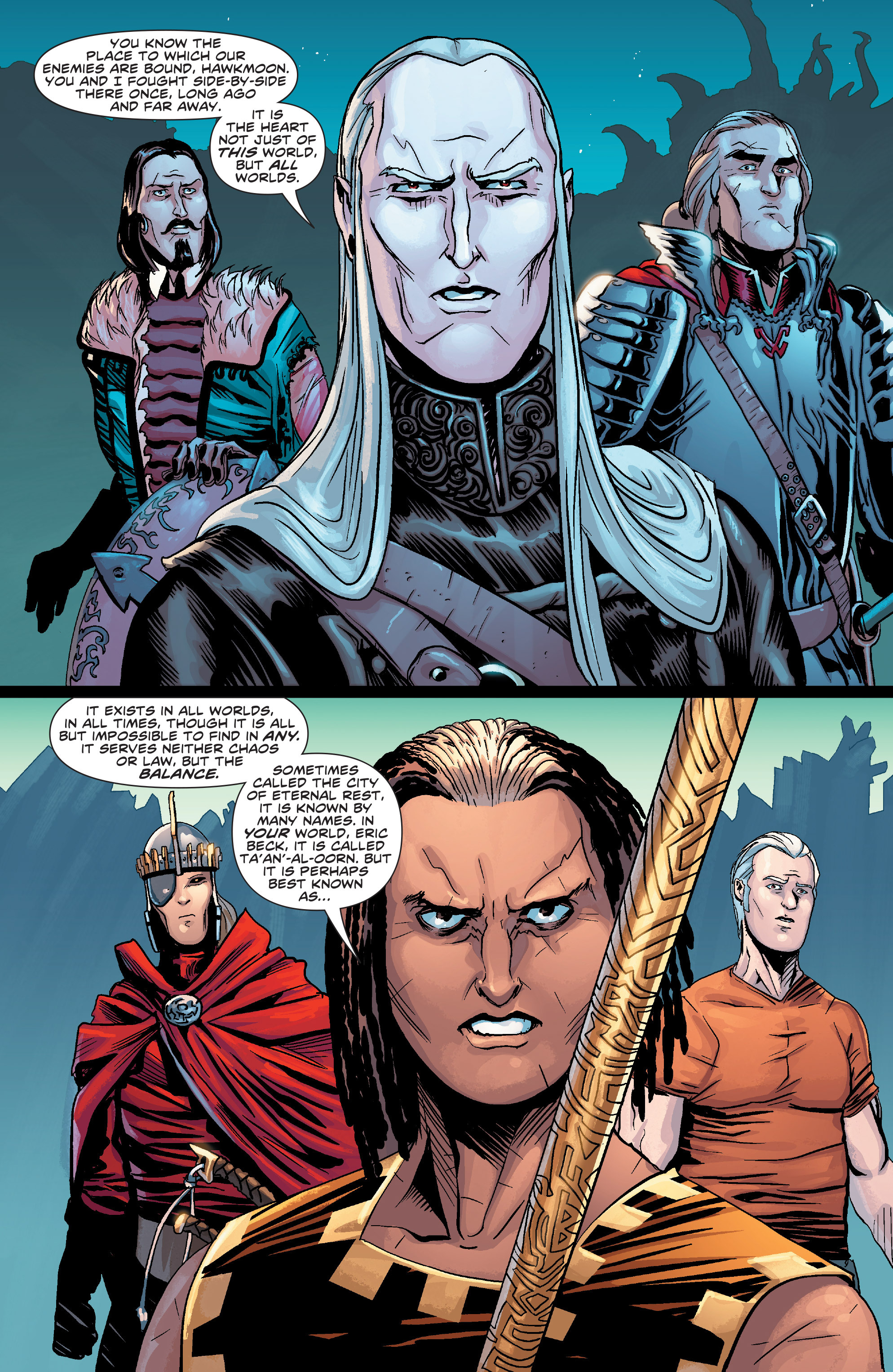 Read online Elric: The Balance Lost comic -  Issue # TPB 2 - 24