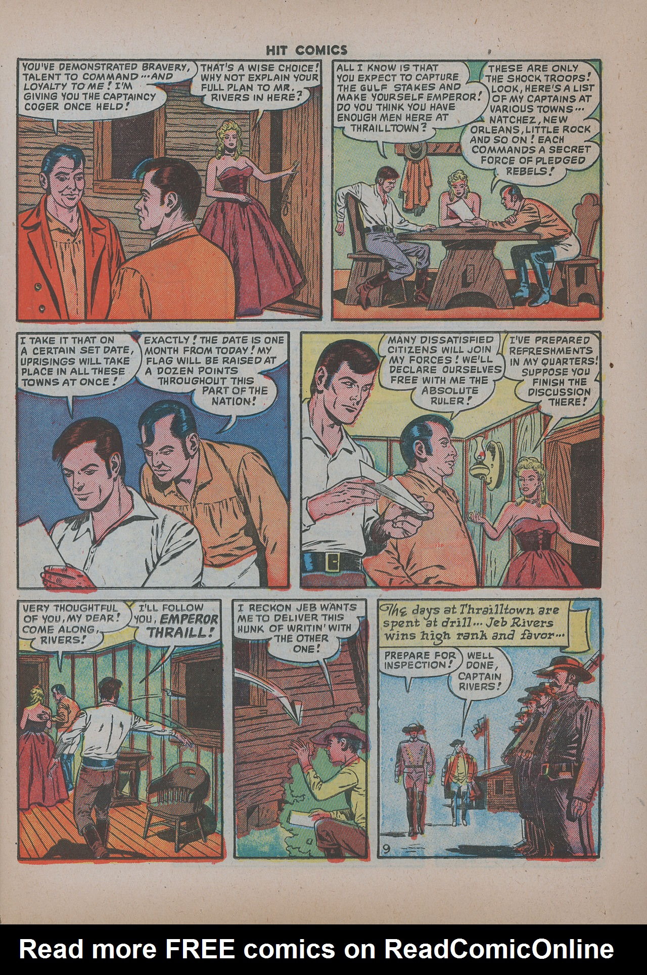 Read online Hit Comics comic -  Issue #62 - 12