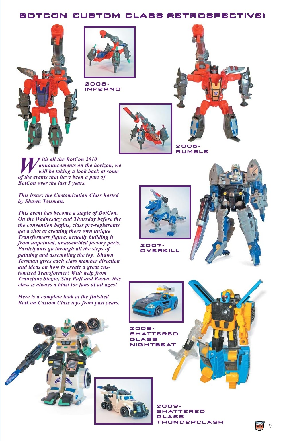 Read online Transformers: Collectors' Club comic -  Issue #31 - 9