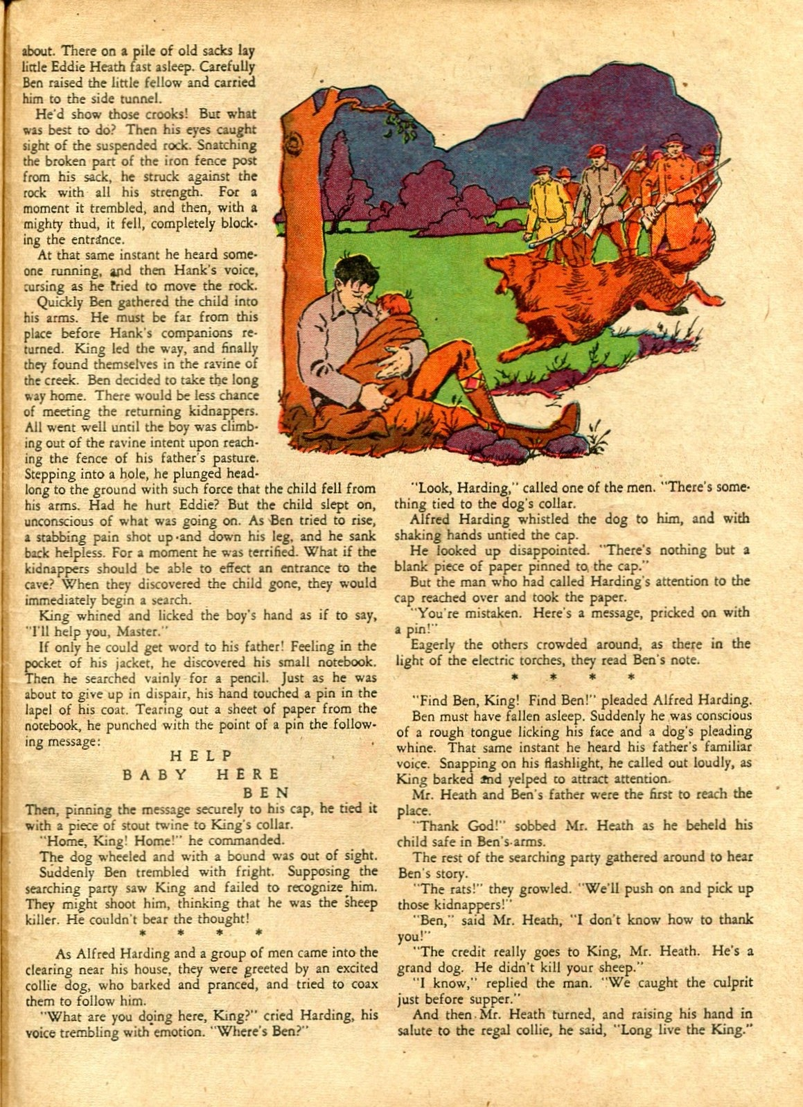 Read online Famous Funnies comic -  Issue #72 - 61