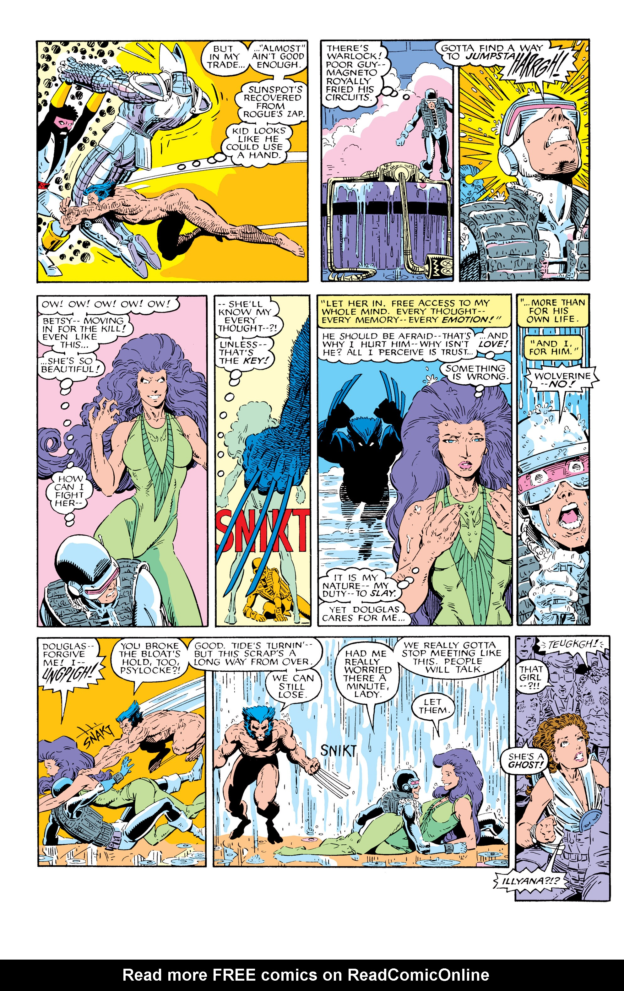Read online Uncanny X-Men (1963) comic -  Issue # _Annual 10 - 32