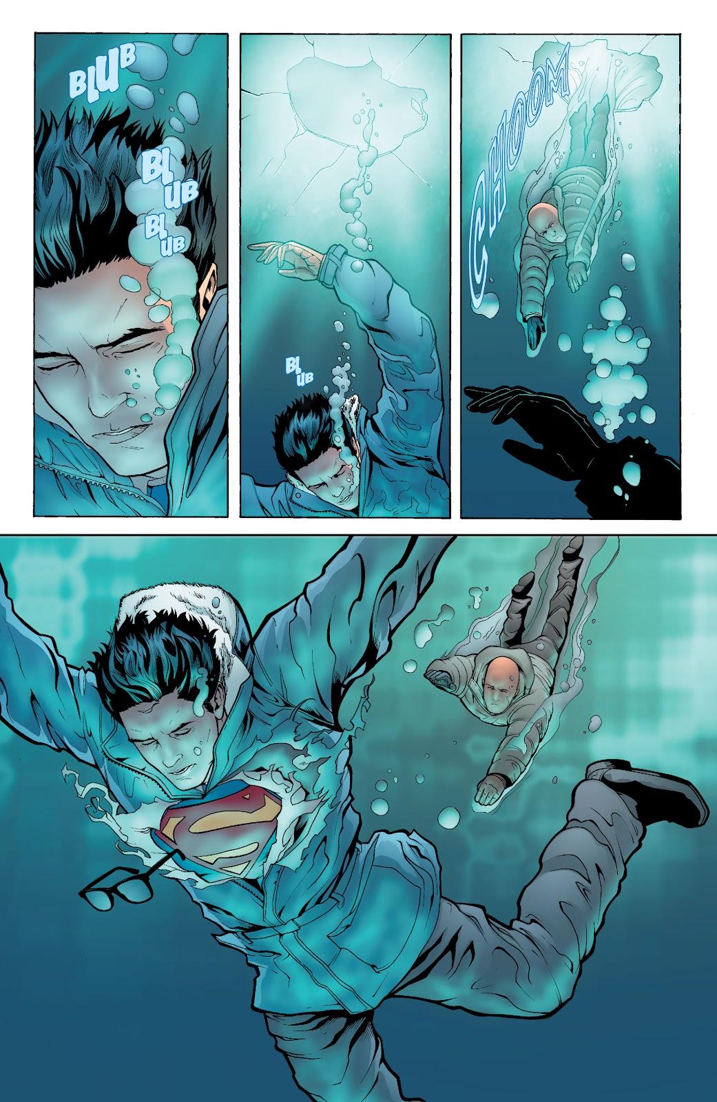 Read online Smallville Season 11 [II] comic -  Issue # TPB 6 - 142