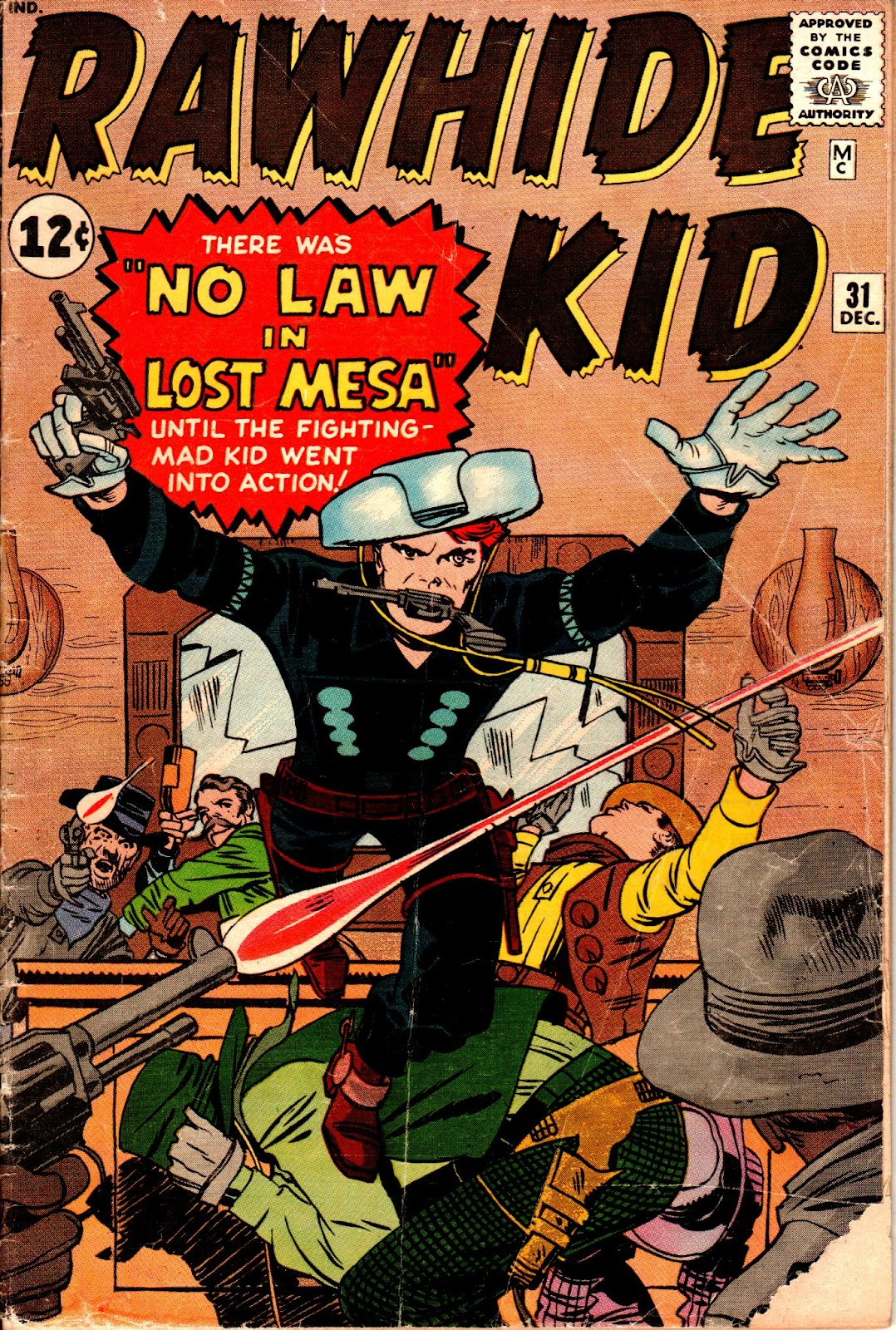 The Rawhide Kid (1955) issue 31 - Page 1
