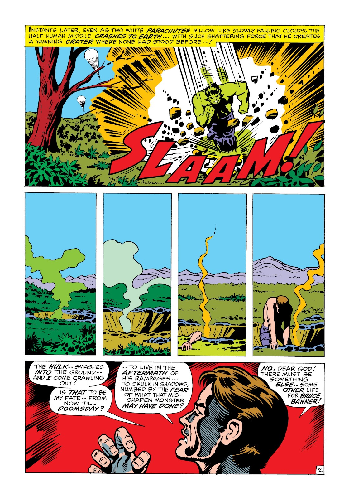 Read online Marvel Masterworks: The Incredible Hulk comic -  Issue # TPB 6 (Part 2) - 76