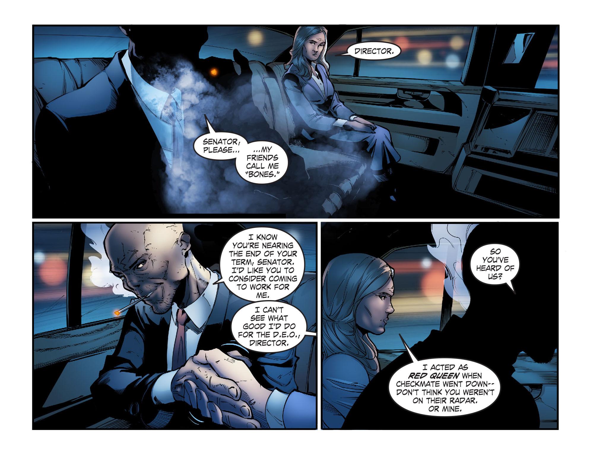 Read online Smallville: Season 11 comic -  Issue #56 - 11