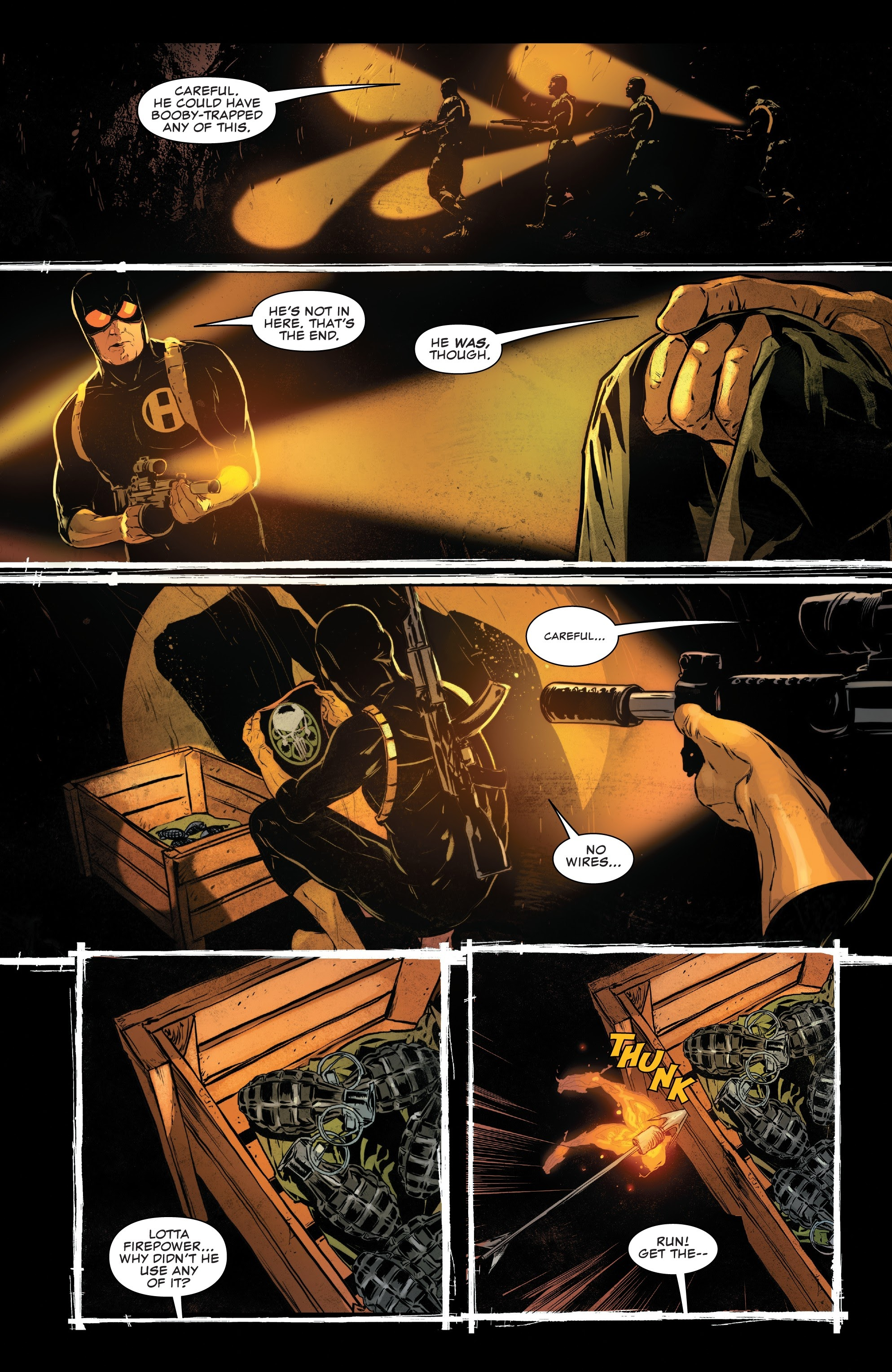 Read online The Punisher (2018) comic -  Issue #12 - 16