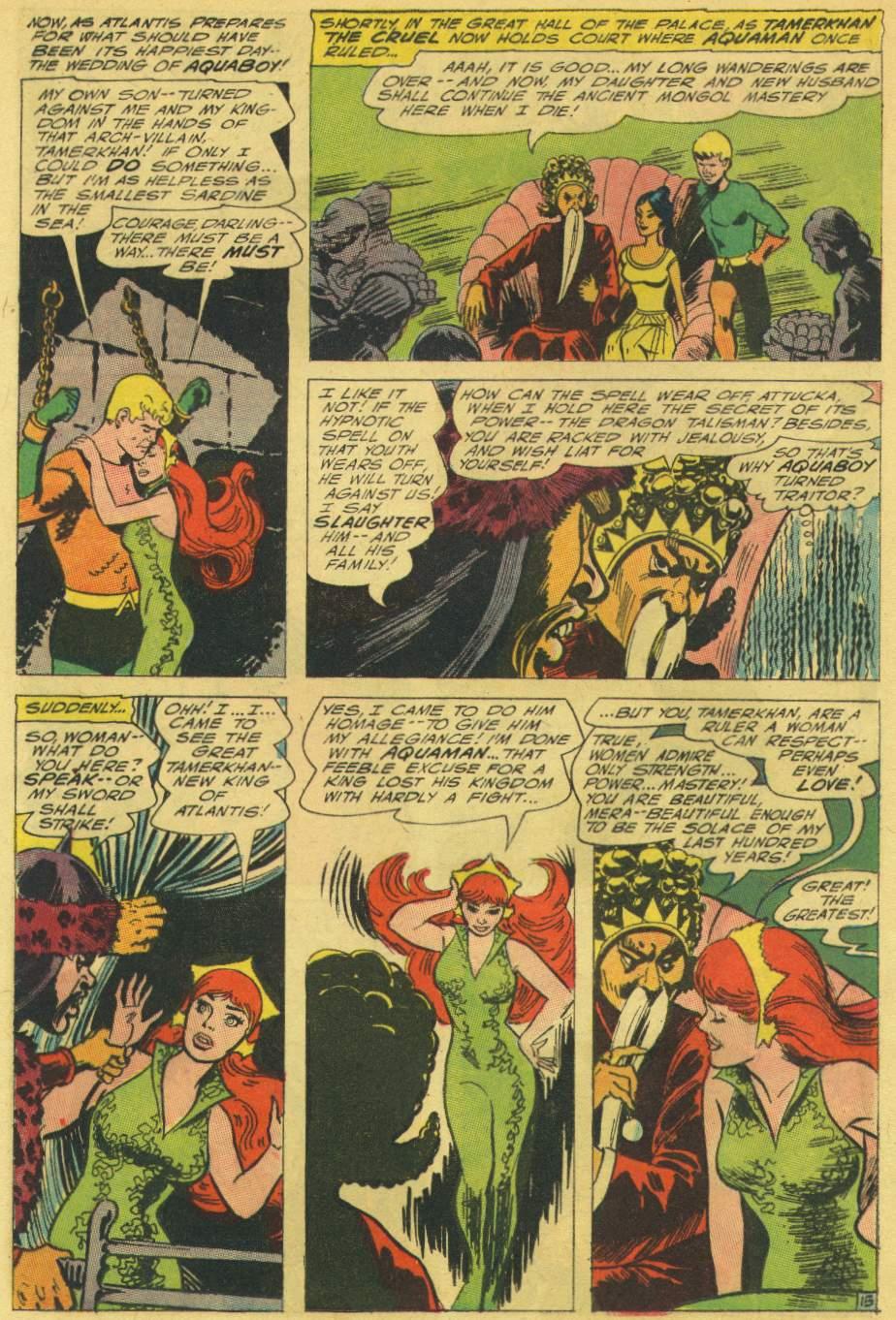 Read online Aquaman (1962) comic -  Issue #25 - 20