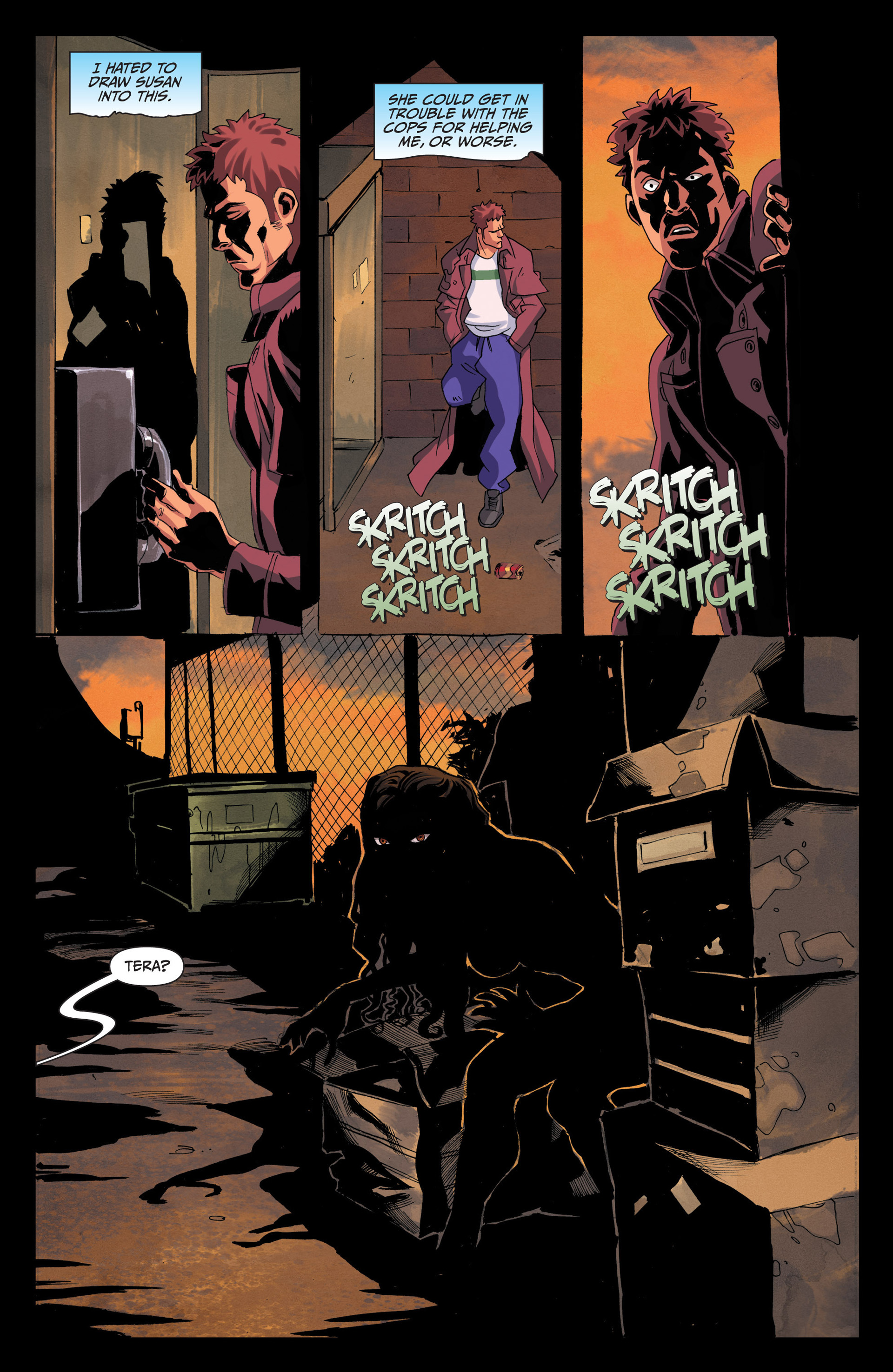 Read online Jim Butcher's The Dresden Files: Fool Moon comic -  Issue #4 - 22