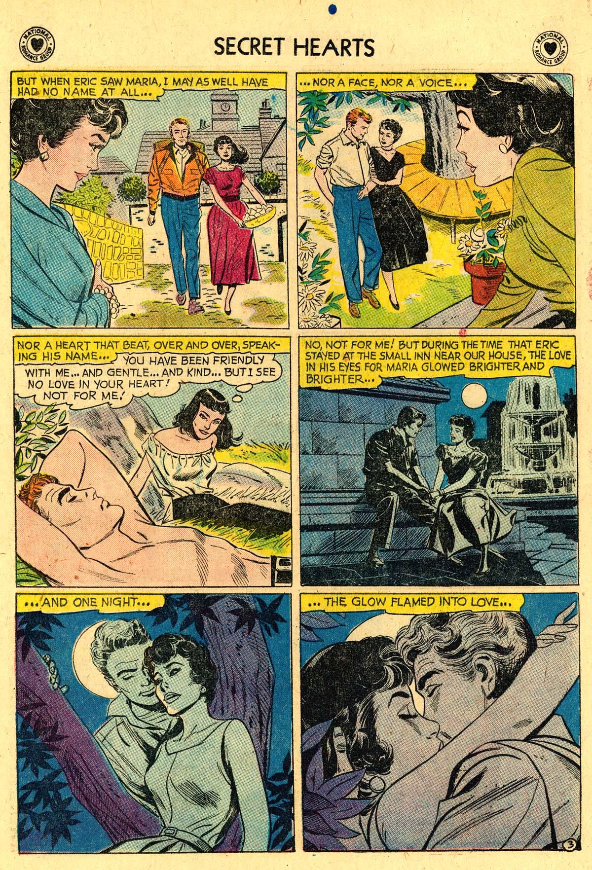 Read online Secret Hearts comic -  Issue #57 - 20