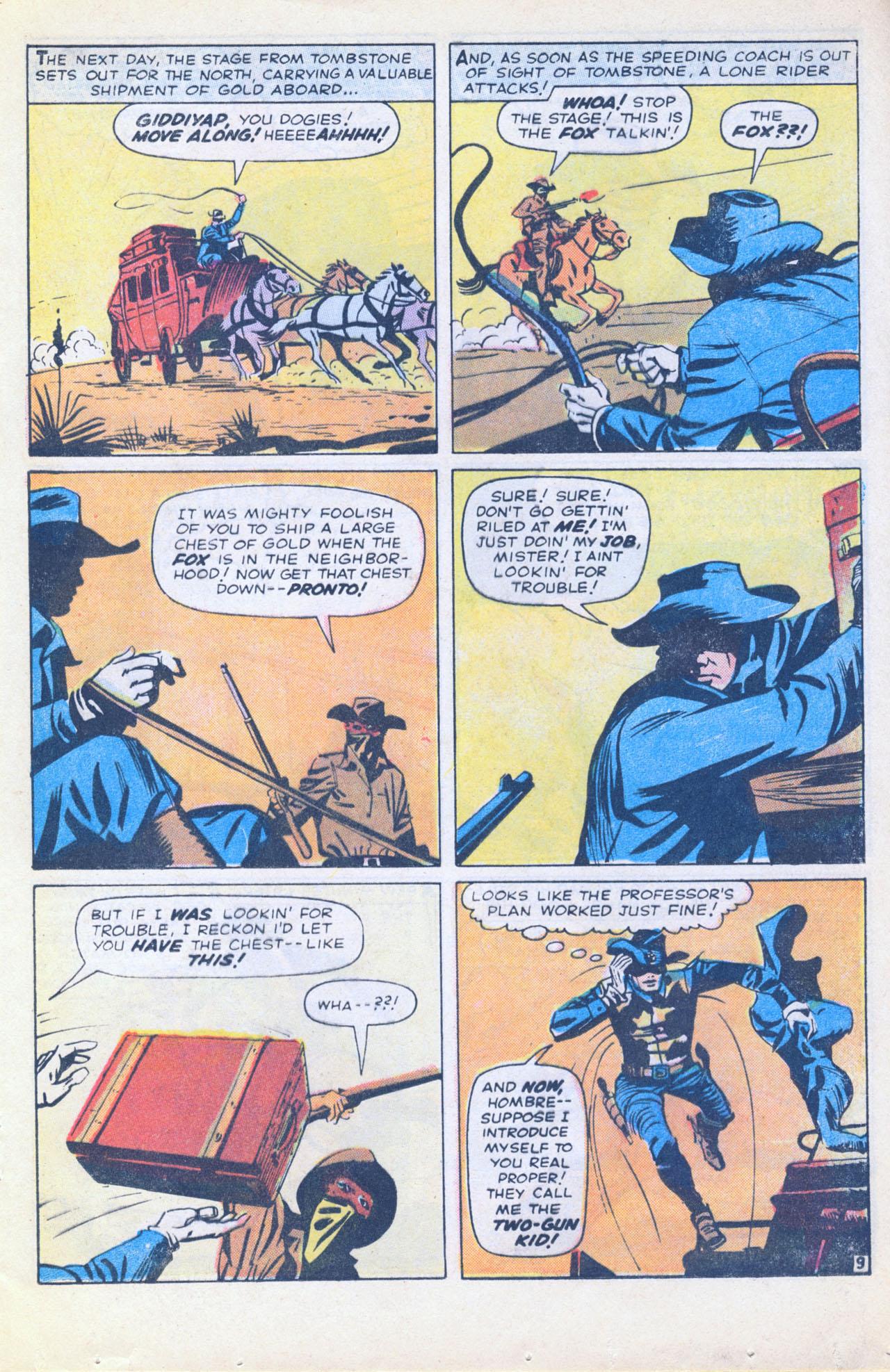 Read online Two-Gun Kid comic -  Issue #116 - 17