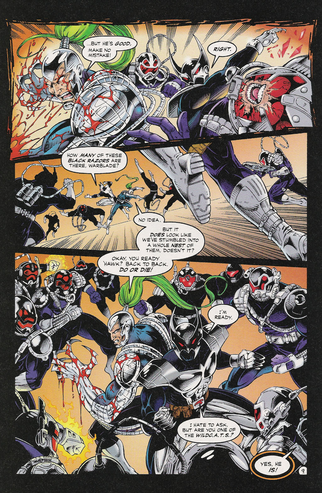 Read online ShadowHawk comic -  Issue #13 - 8