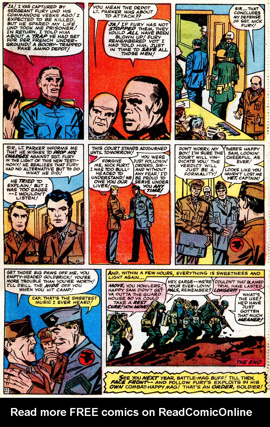 Read online Sgt. Fury comic -  Issue # _Special 5 - 65