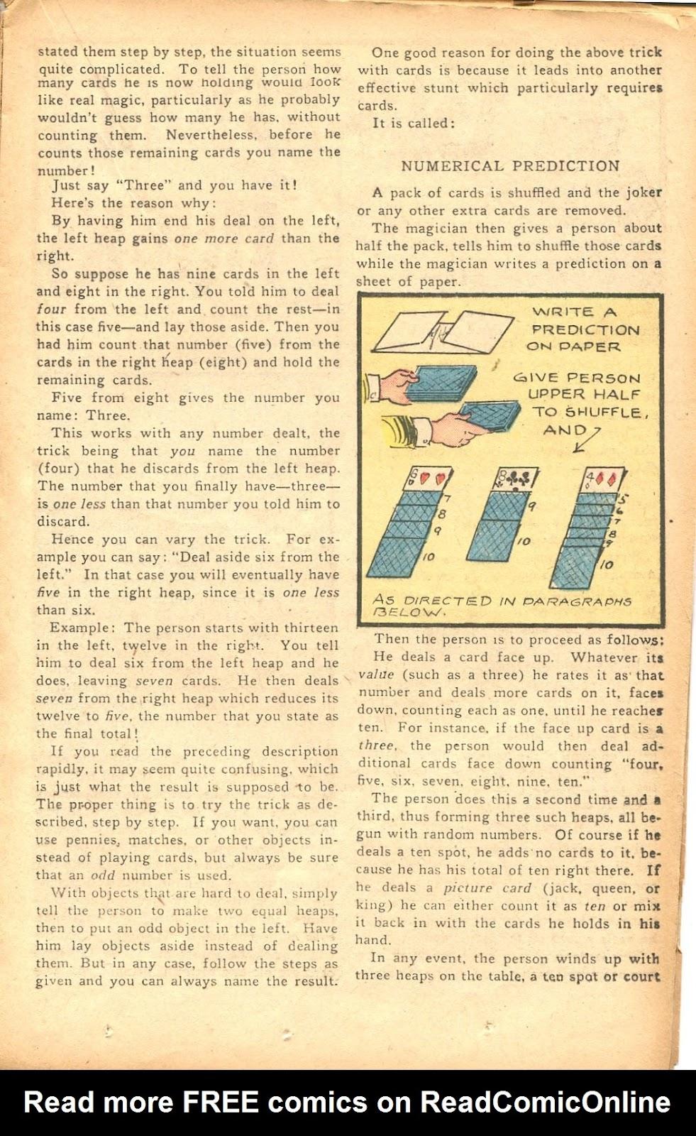 Read online Super-Magician Comics comic -  Issue #35 - 23
