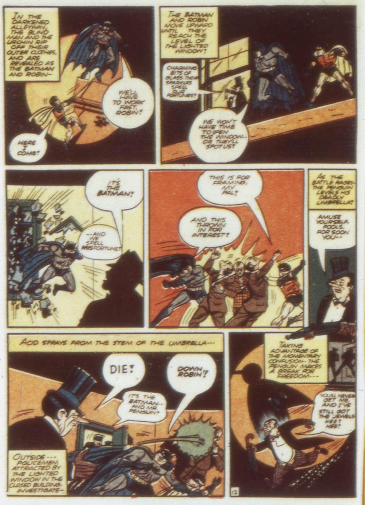 Read online Detective Comics (1937) comic -  Issue #58 - 14