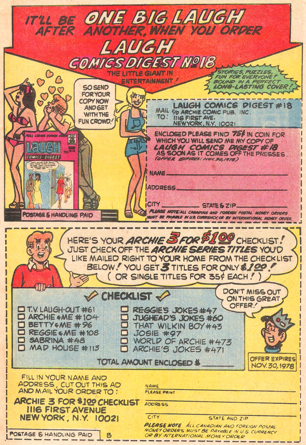 Read online Archie's Girls Betty and Veronica comic -  Issue #272 - 11