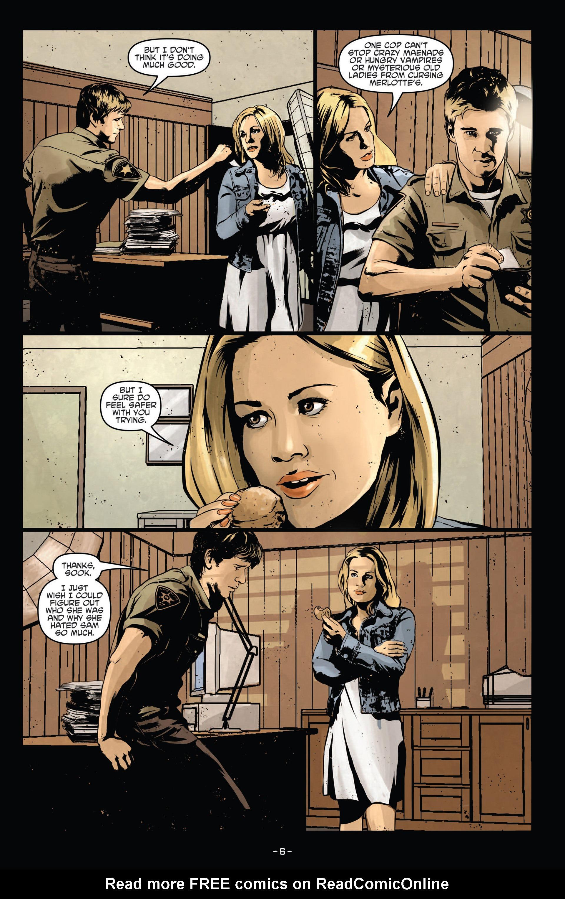 Read online True Blood (2012) comic -  Issue #12 - 8