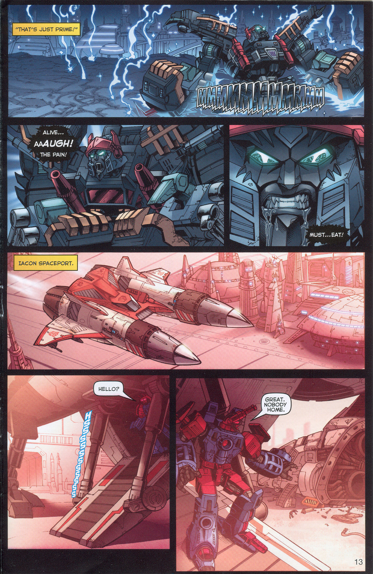 Read online Transformers: Collectors' Club comic -  Issue #3 - 13