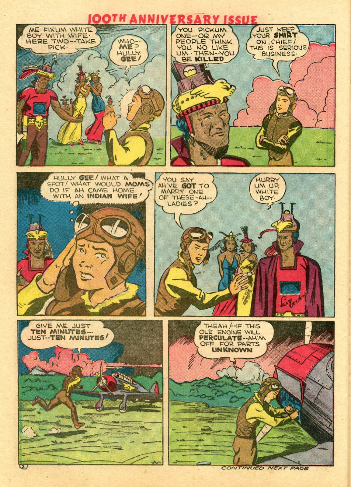Read online Famous Funnies comic -  Issue #100 - 48
