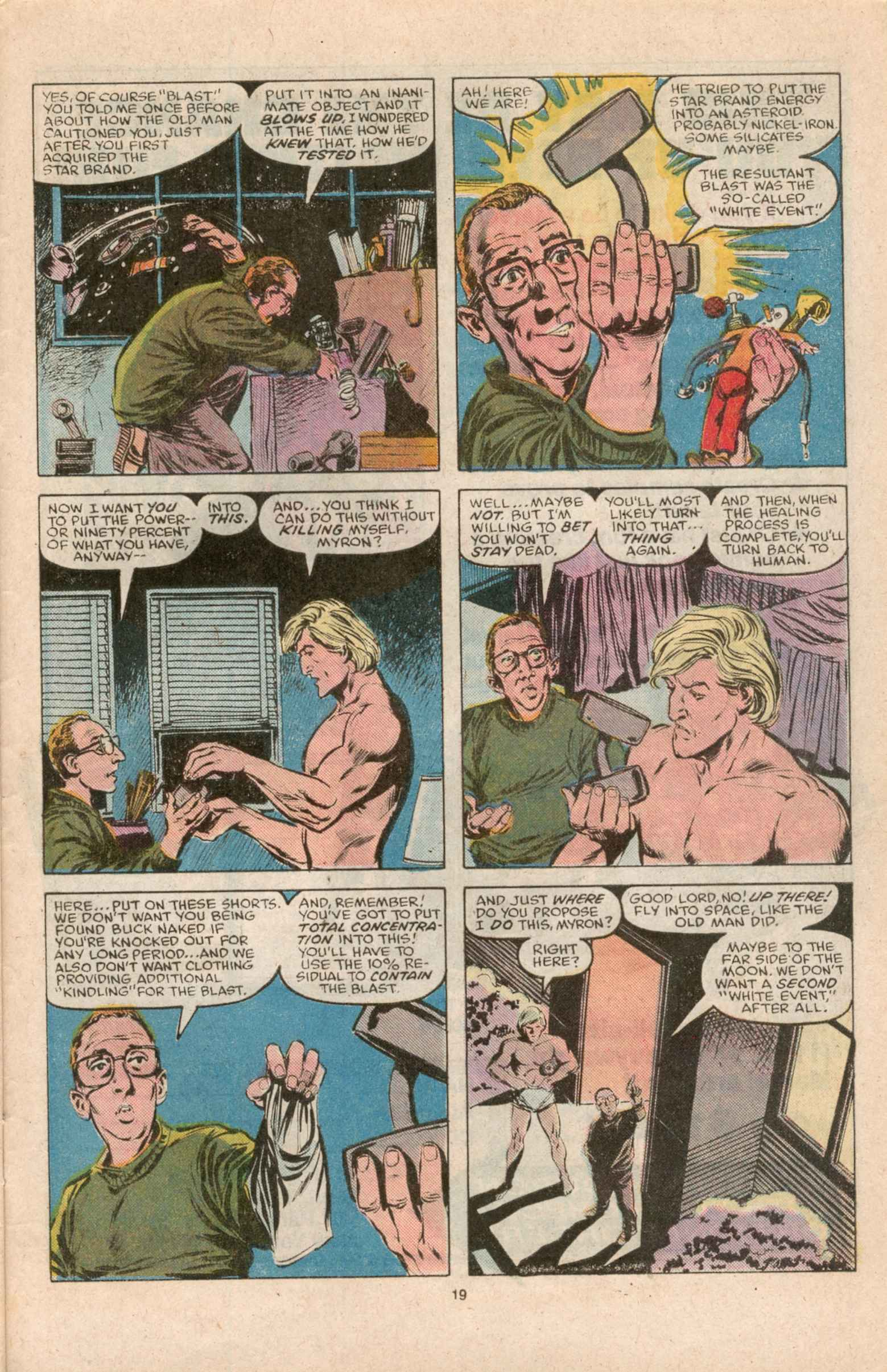 Read online Star Brand comic -  Issue #12 - 21