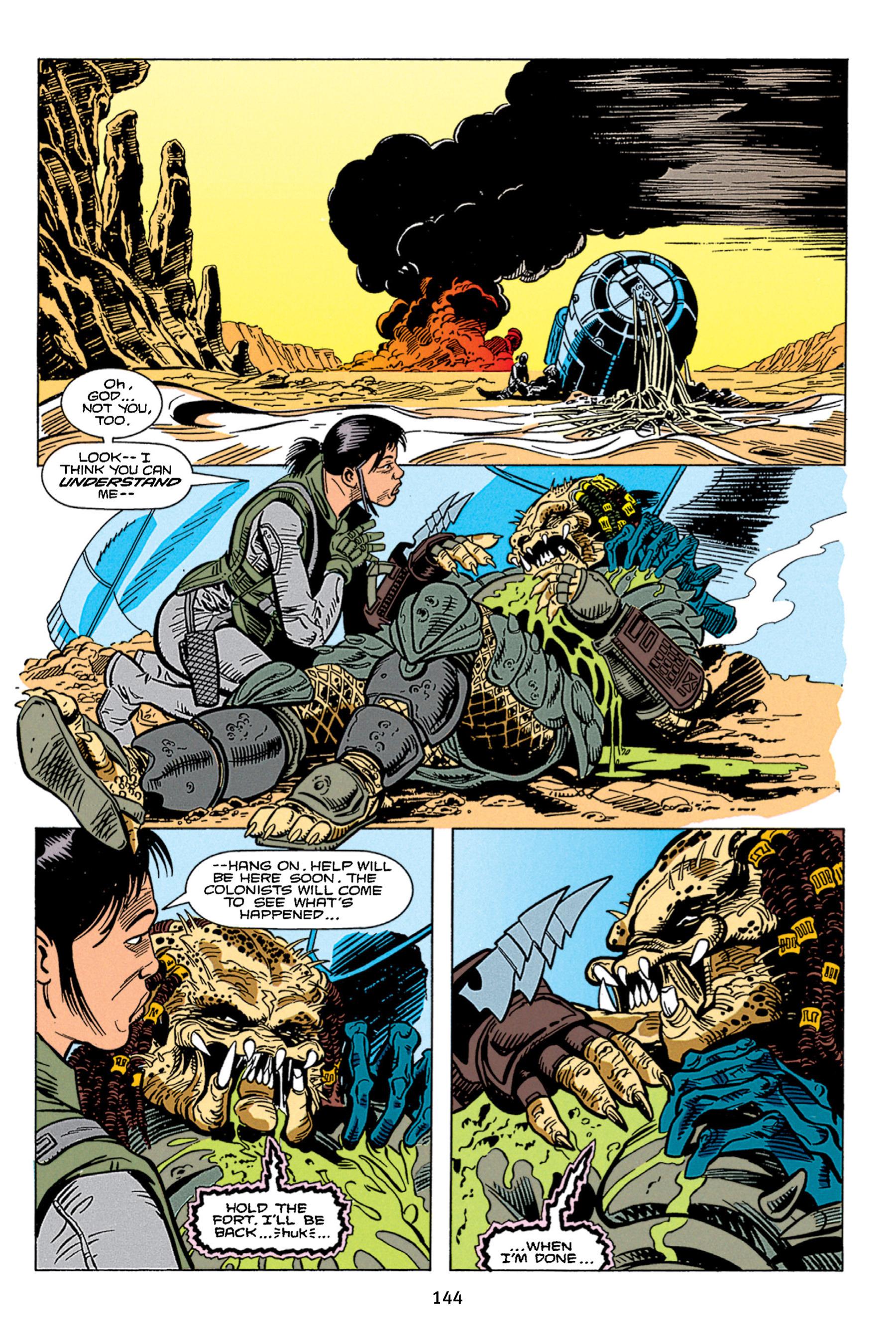 Read online Aliens vs. Predator Omnibus comic -  Issue # _TPB 1 Part 2 - 43
