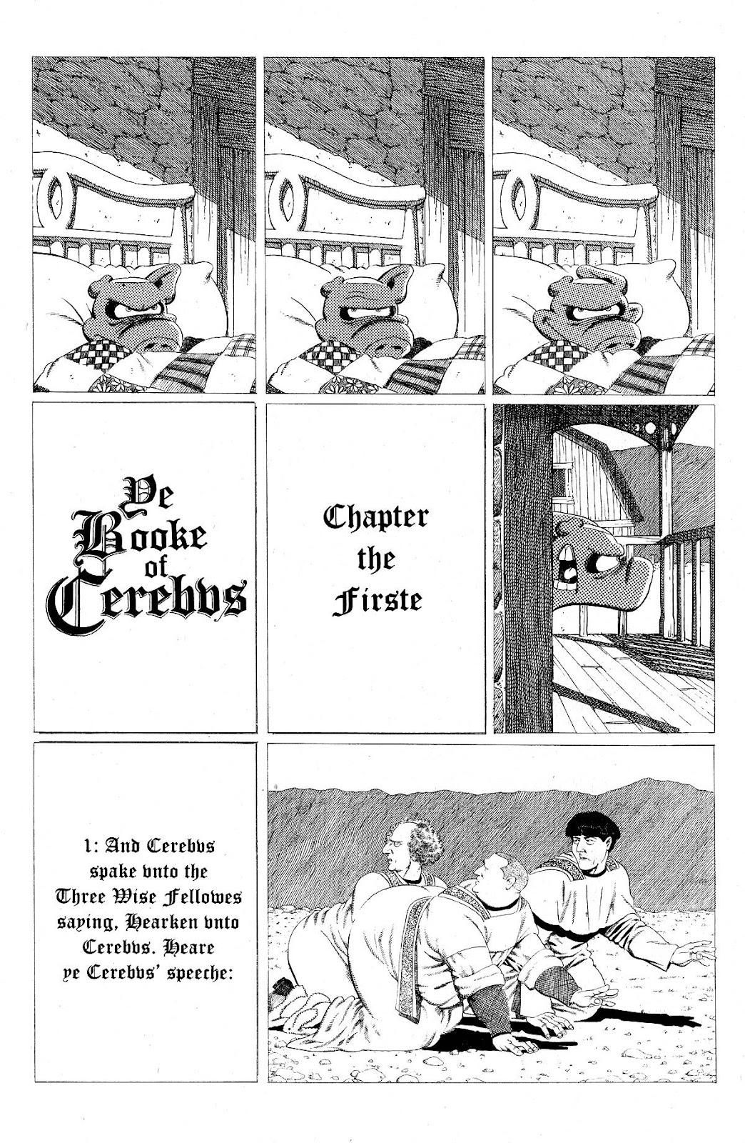 Cerebus Issue #275 #274 - English 18