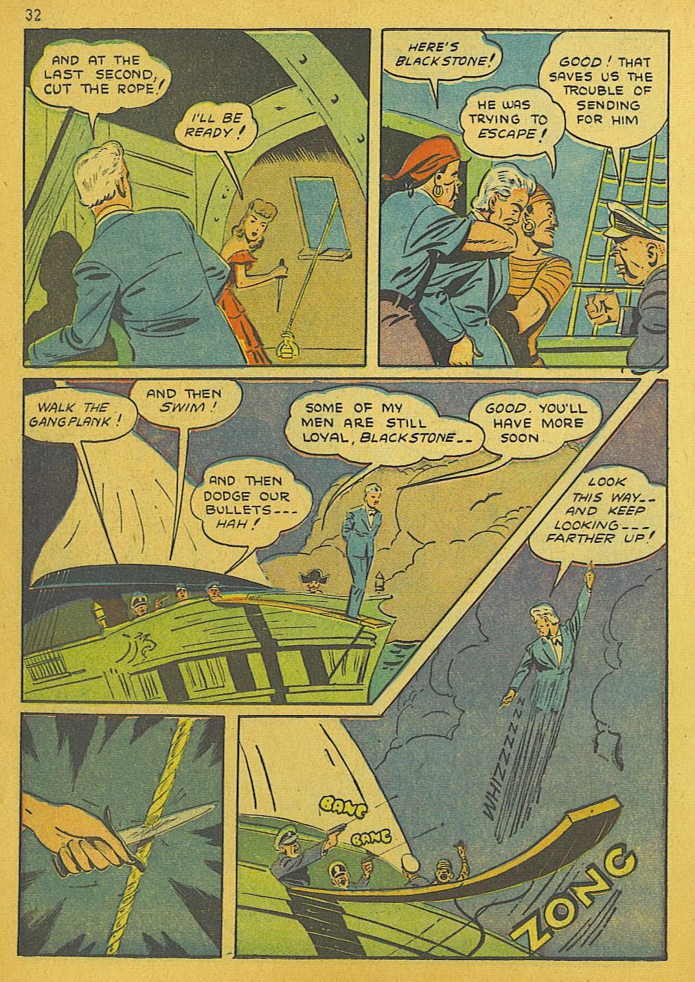 Read online Super-Magician Comics comic -  Issue #10 - 32