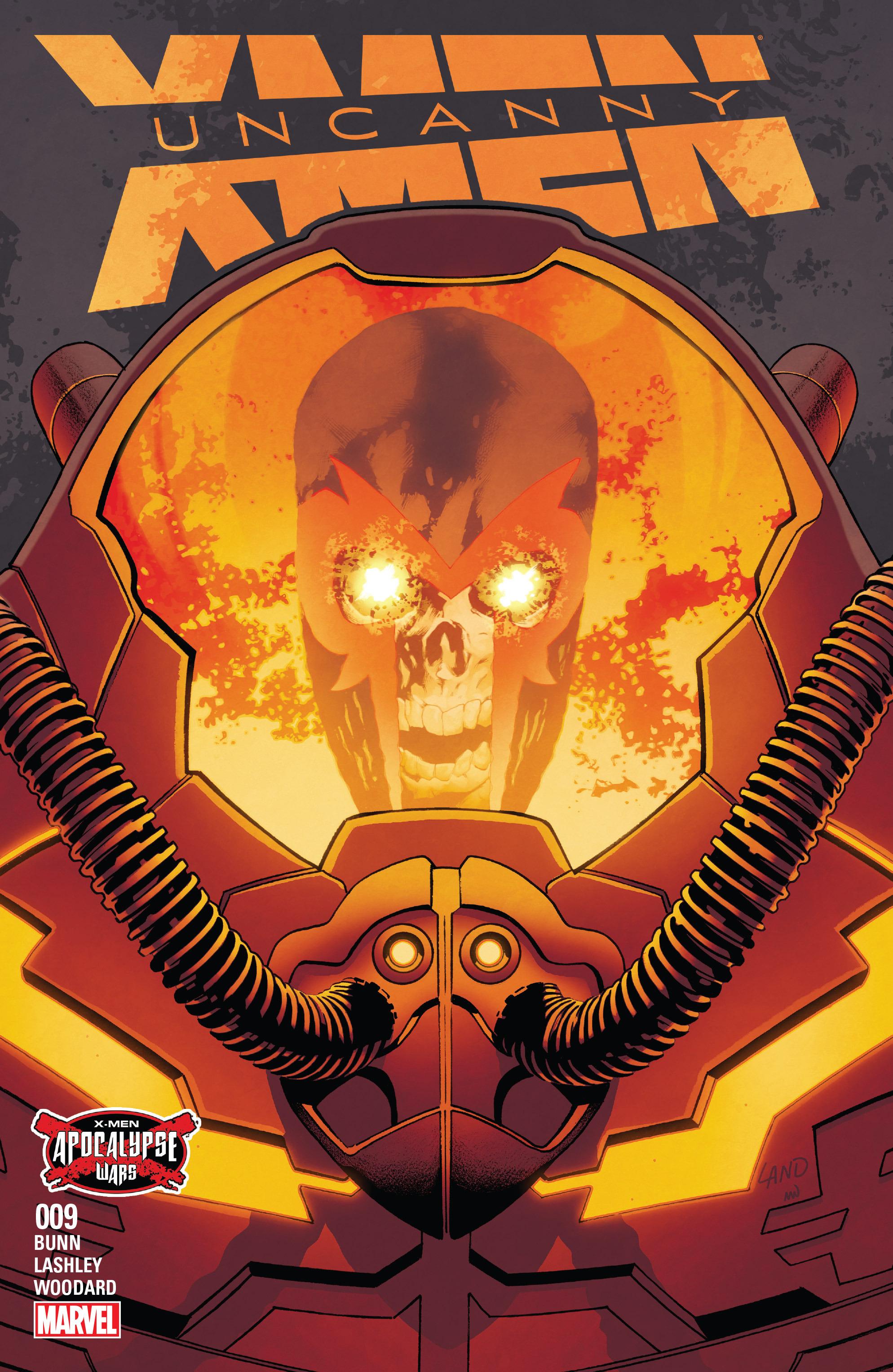 Read online Uncanny X-Men (2016) comic -  Issue #9 - 1