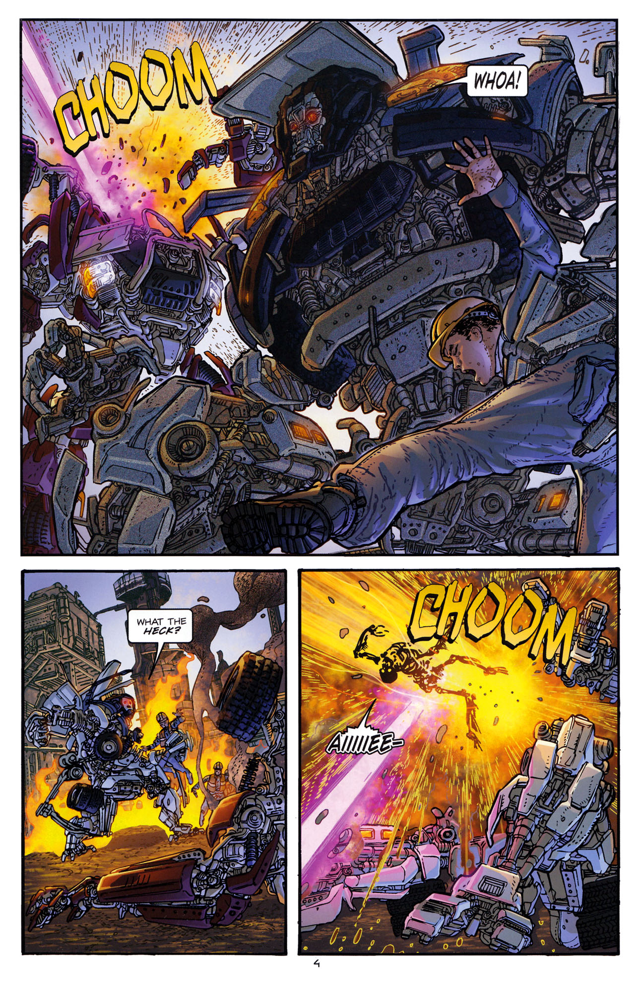 Read online Transformers: Dark of the Moon Rising Storm comic -  Issue #1 - 7