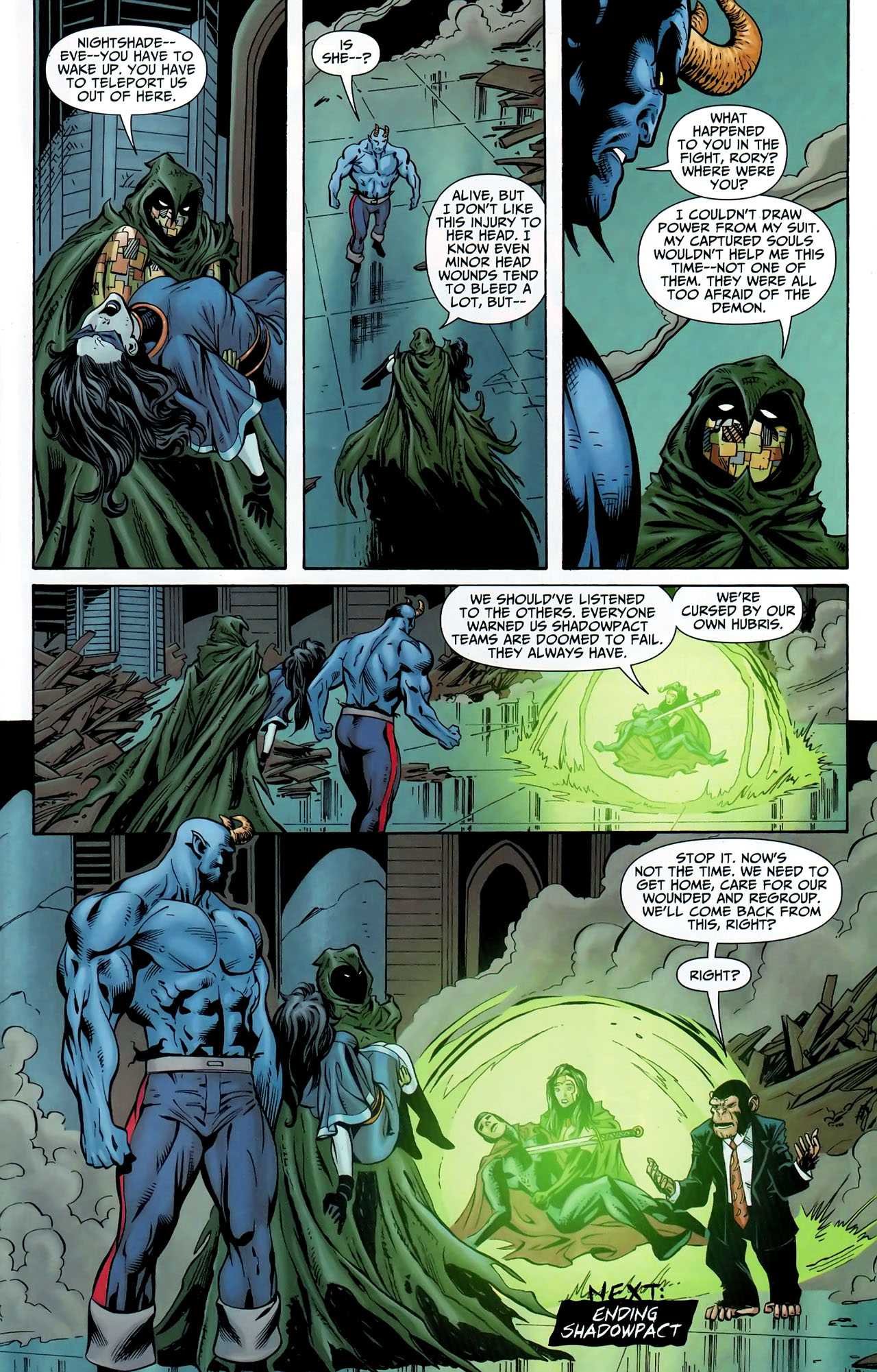 Read online Shadowpact comic -  Issue #9 - 22