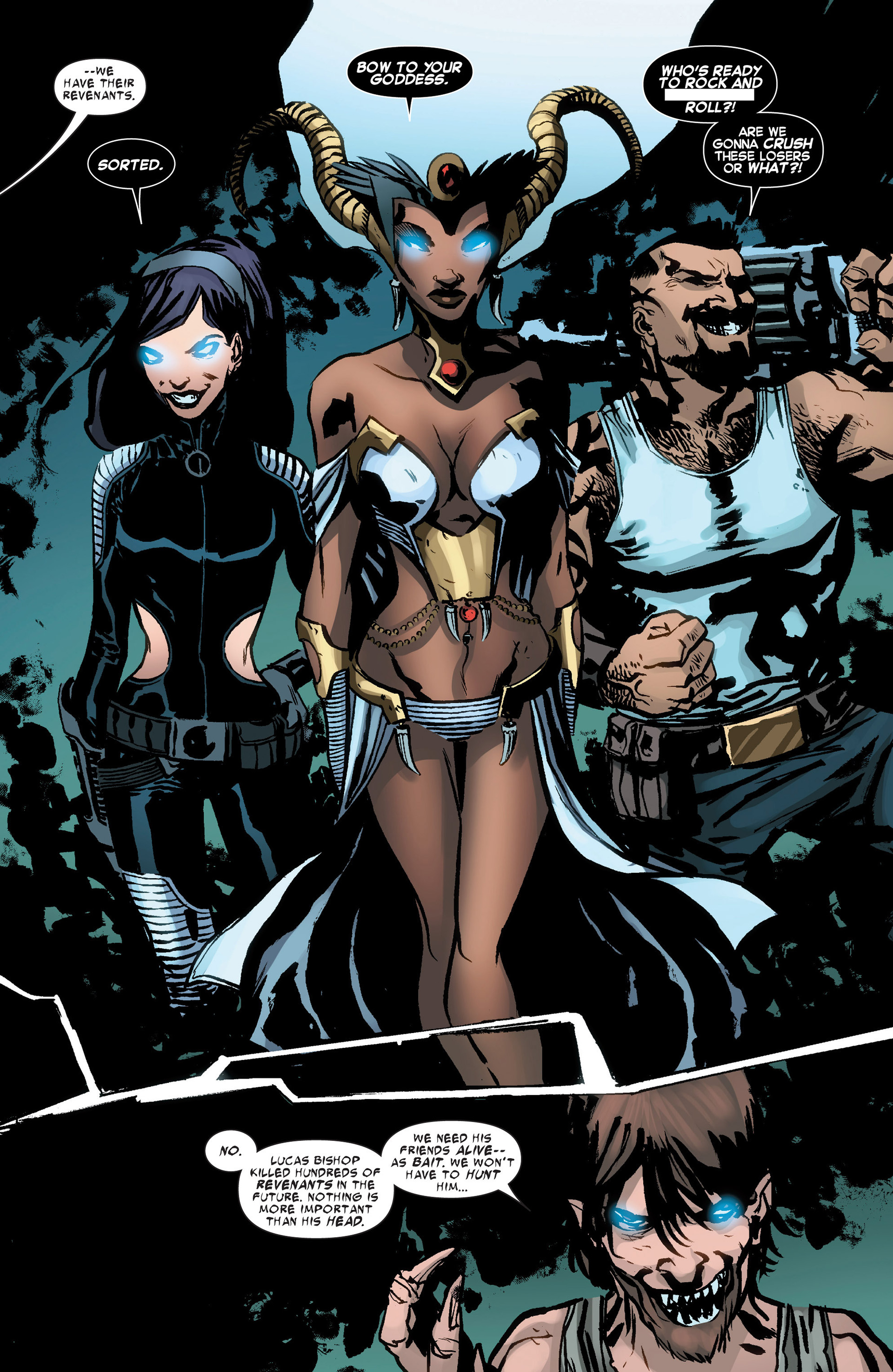 Read online Uncanny X-Force (2013) comic -  Issue #10 - 18