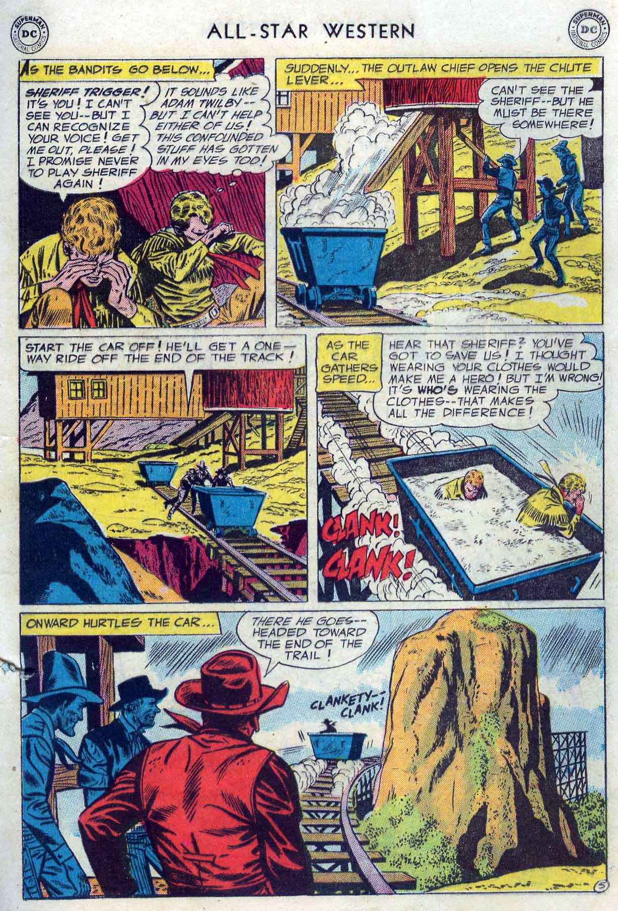 Read online All-Star Western (1951) comic -  Issue #85 - 7
