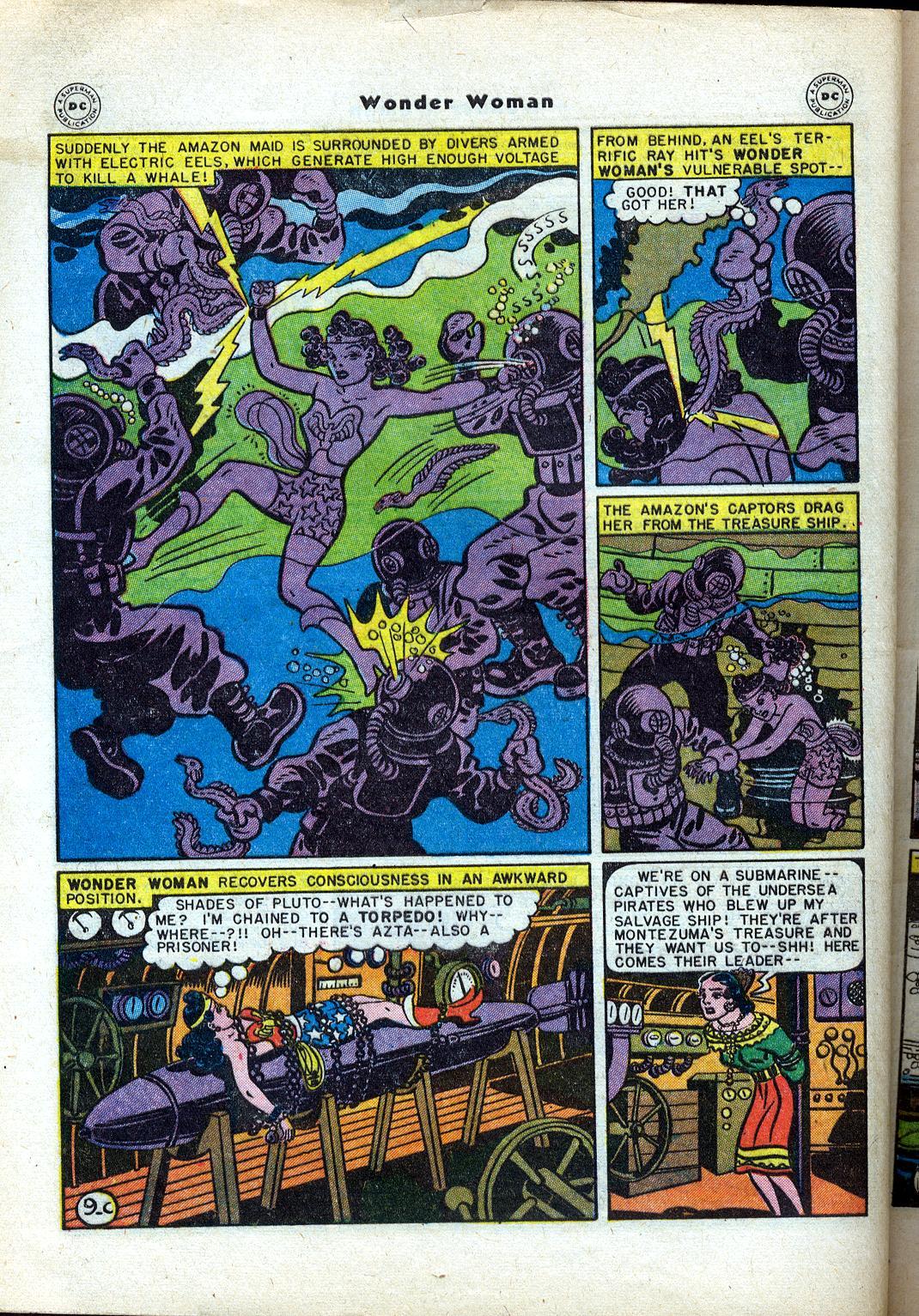 Read online Wonder Woman (1942) comic -  Issue #24 - 46