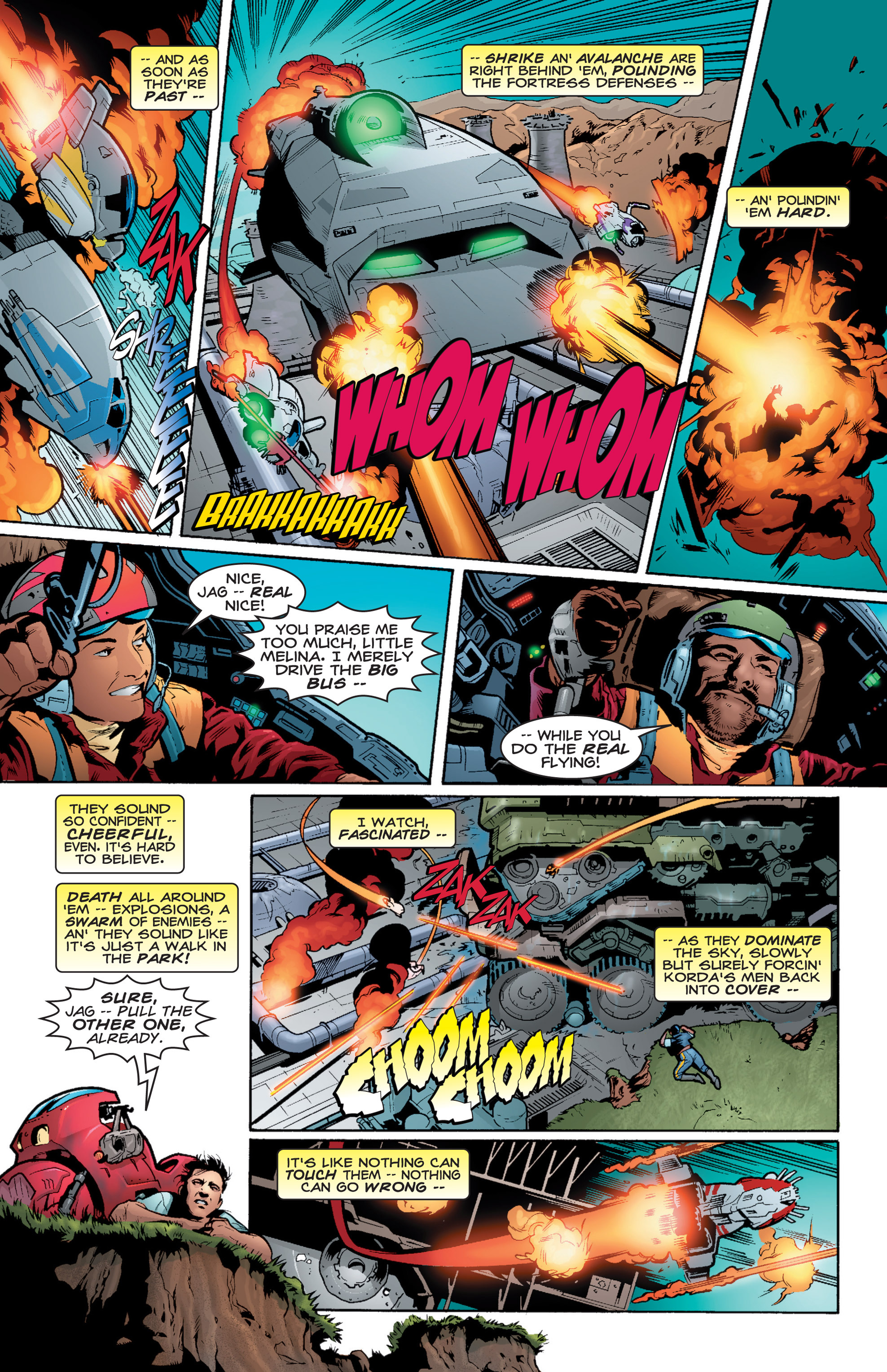 Read online Shockrockets comic -  Issue # TPB - 18