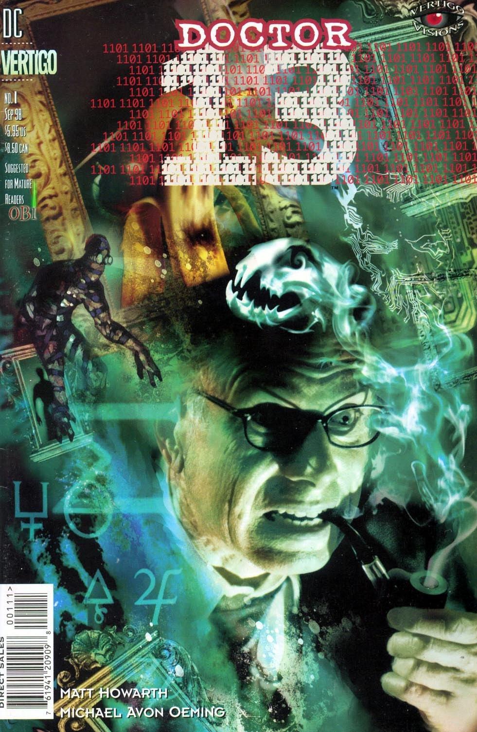 Vertigo Visions: Dr. Thirteen Full Page 1
