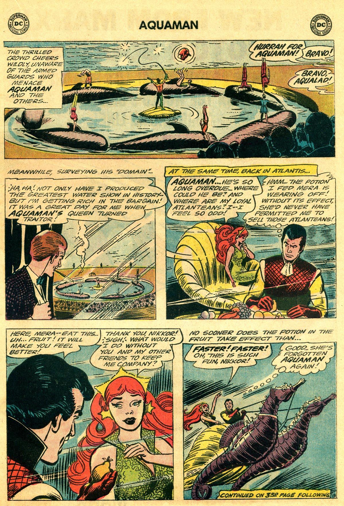 Read online Aquaman (1962) comic -  Issue #19 - 17