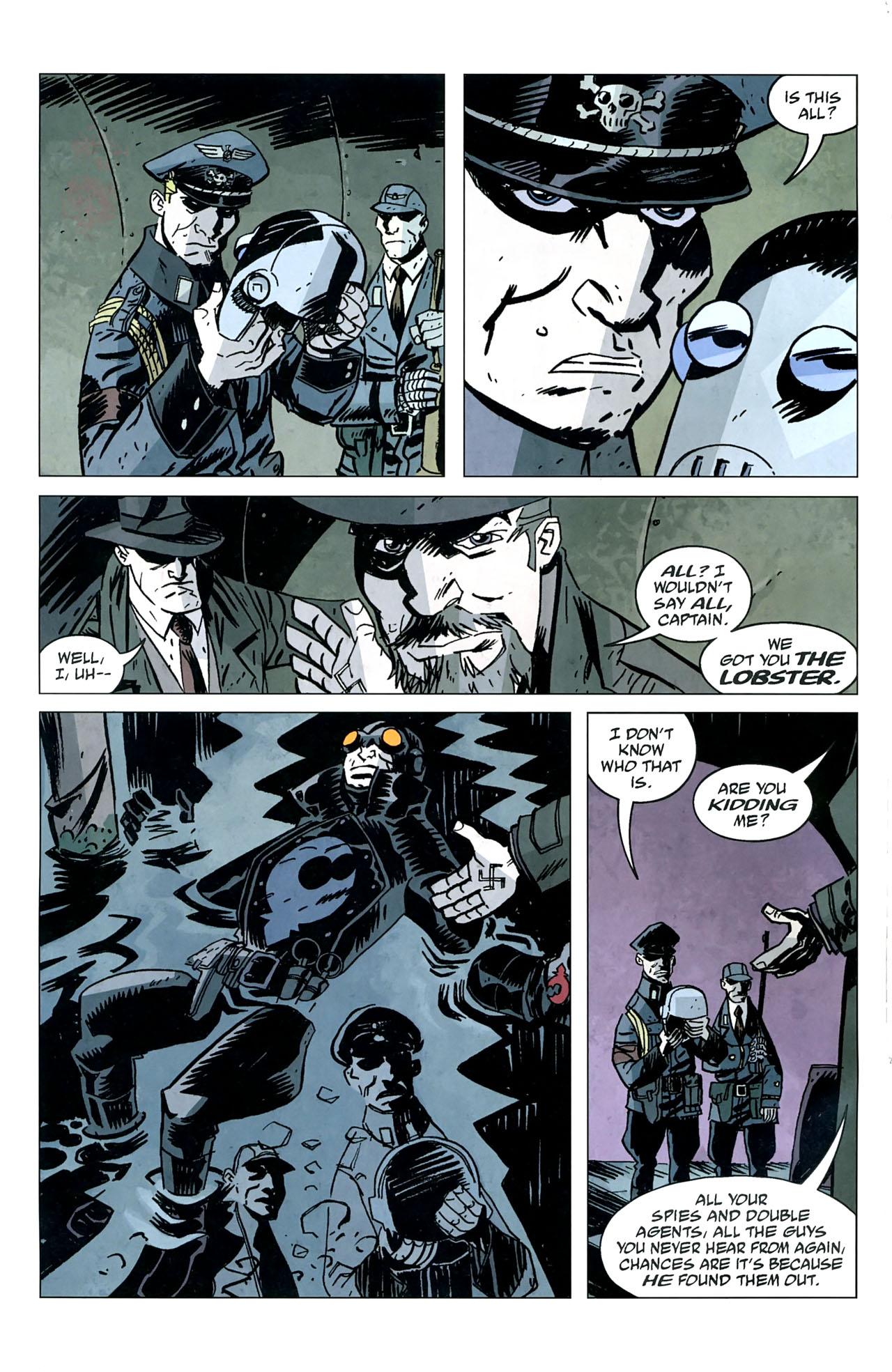 Read online Lobster Johnson: The Iron Prometheus comic -  Issue #5 - 10