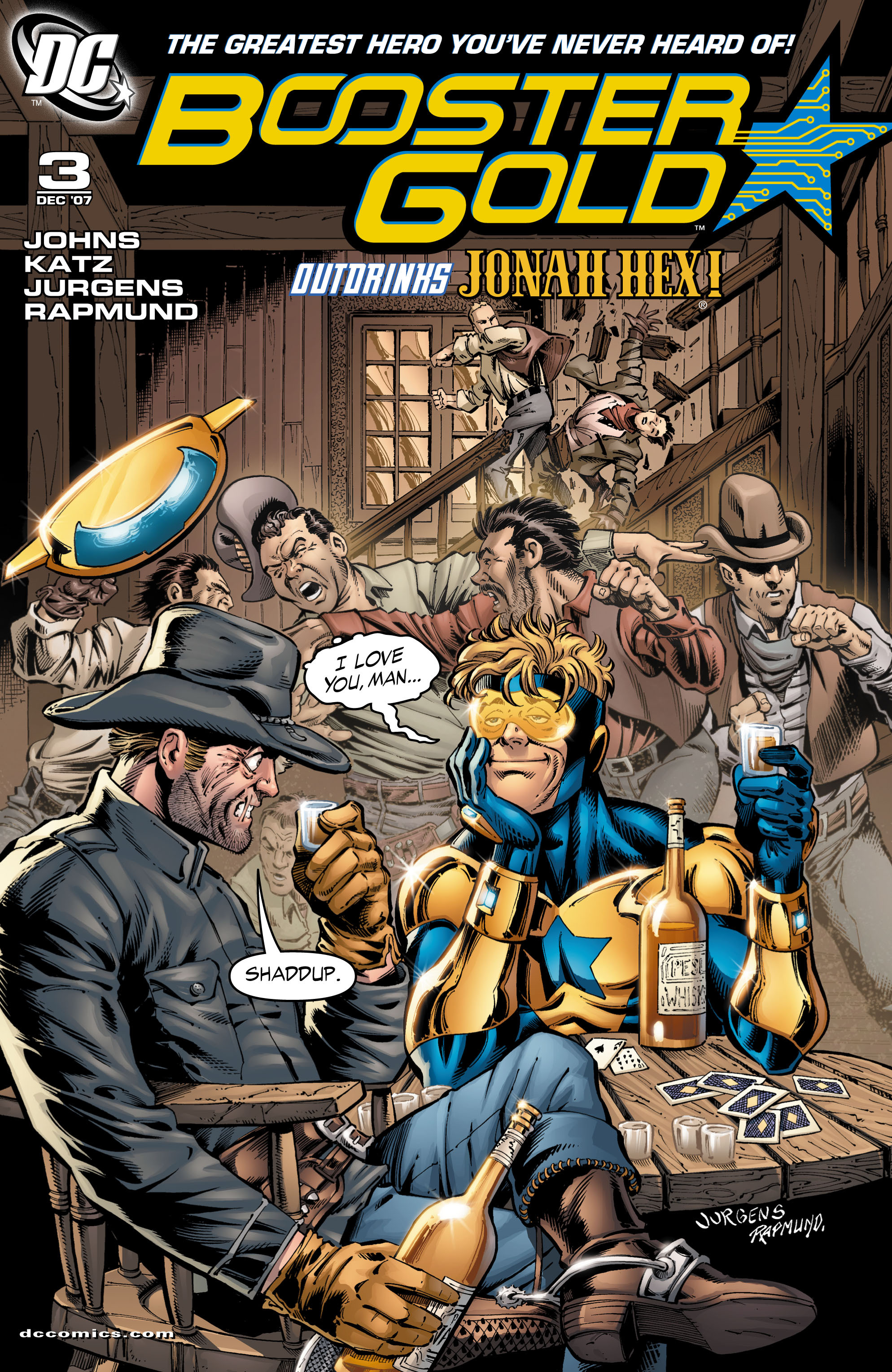 Booster Gold 2007 Issue 3