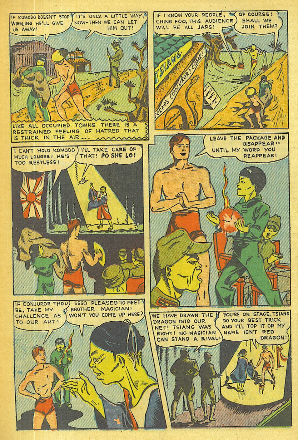 Read online Super-Magician Comics comic -  Issue #36 - 25