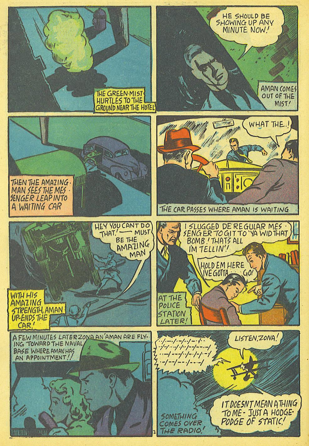 Read online Amazing Man Comics comic -  Issue #19 - 4