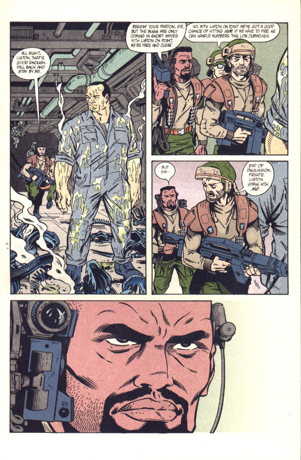 Read online Aliens: Colonial Marines comic -  Issue #9 - 12