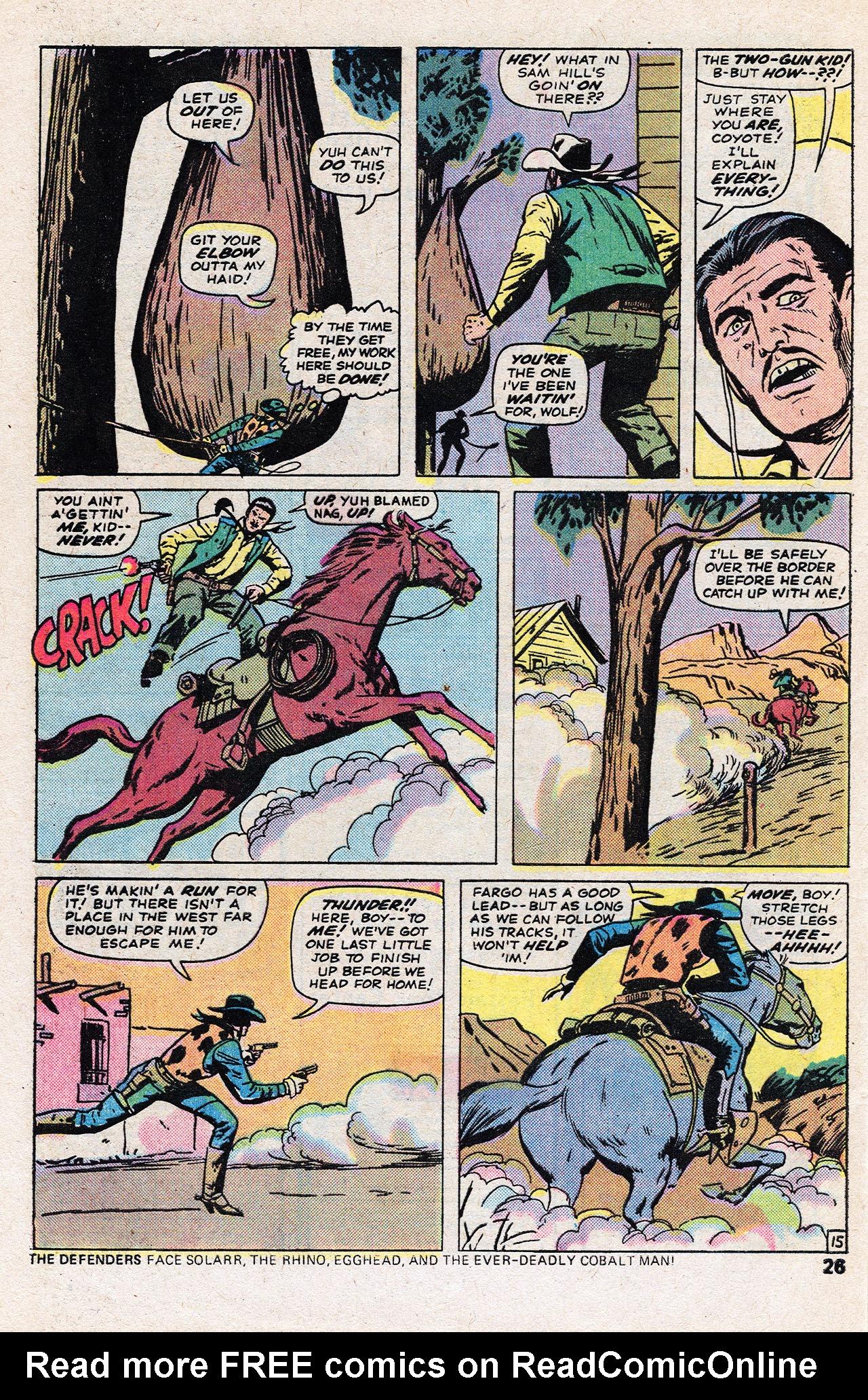 Read online Two-Gun Kid comic -  Issue #134 - 28