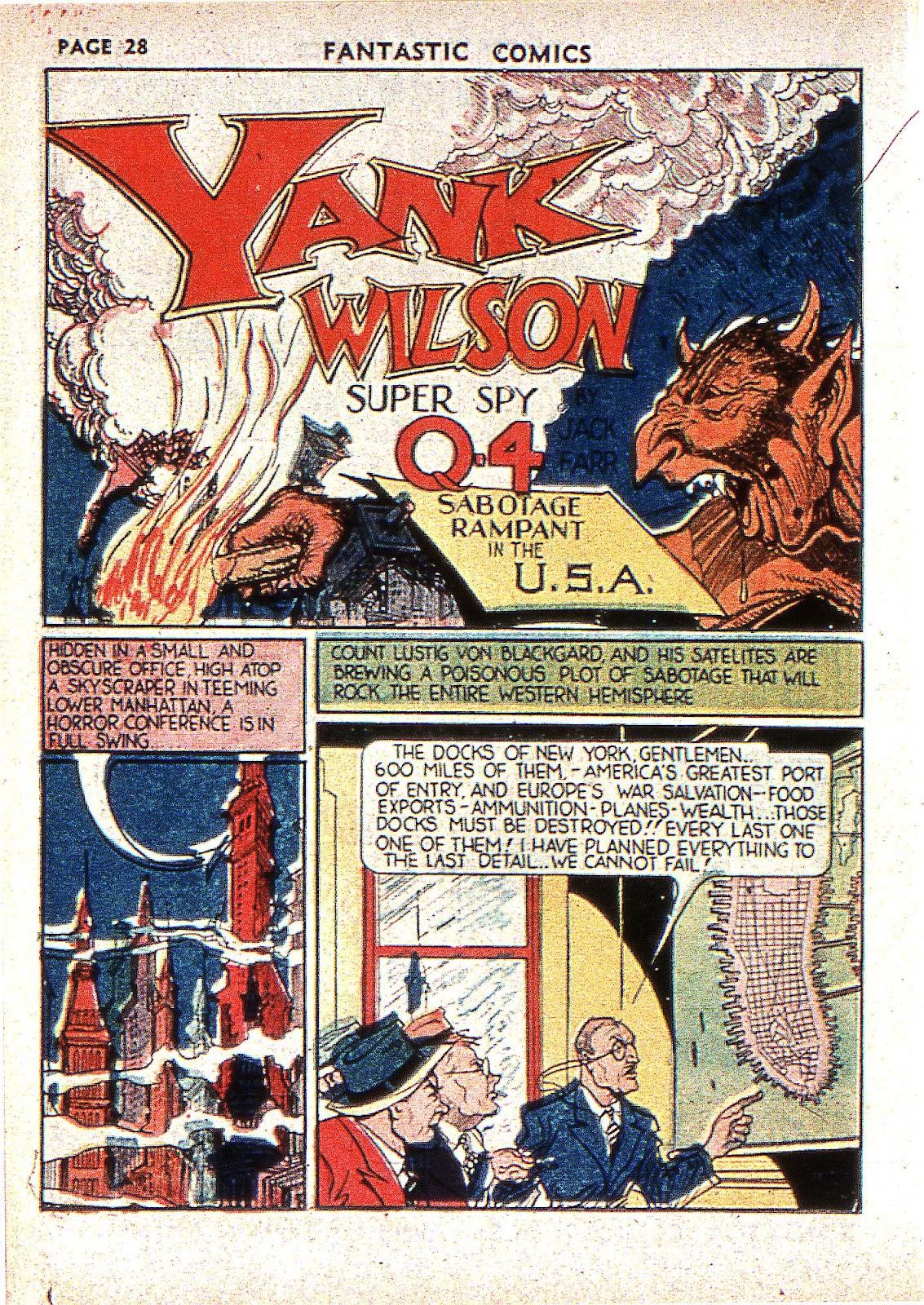 Read online Fantastic Comics comic -  Issue #2 - 30